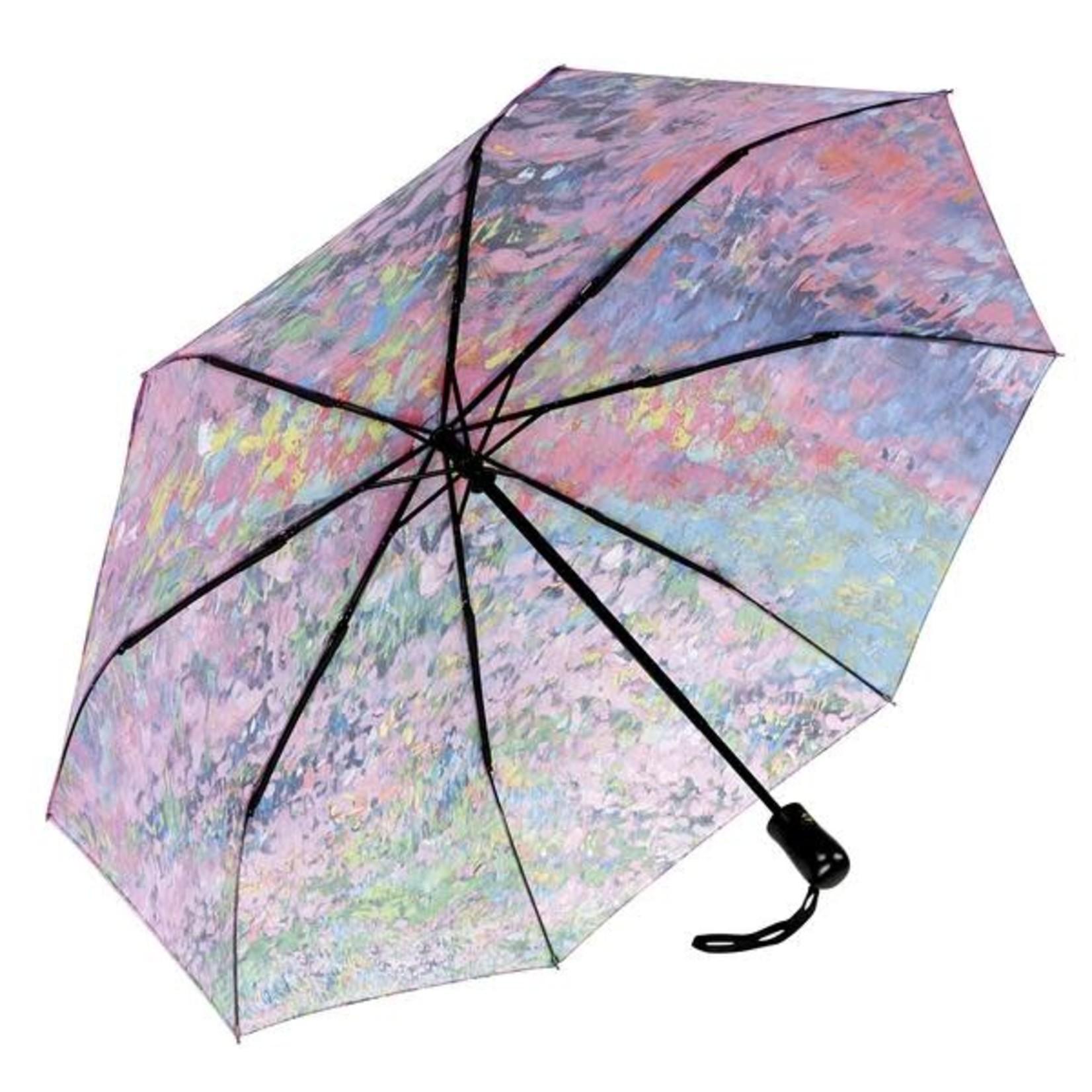 Garden Symphony Folding Umbrella