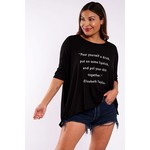 Los Angeles Trading Co Pour Yourself a Drink One-Size BlackTee
