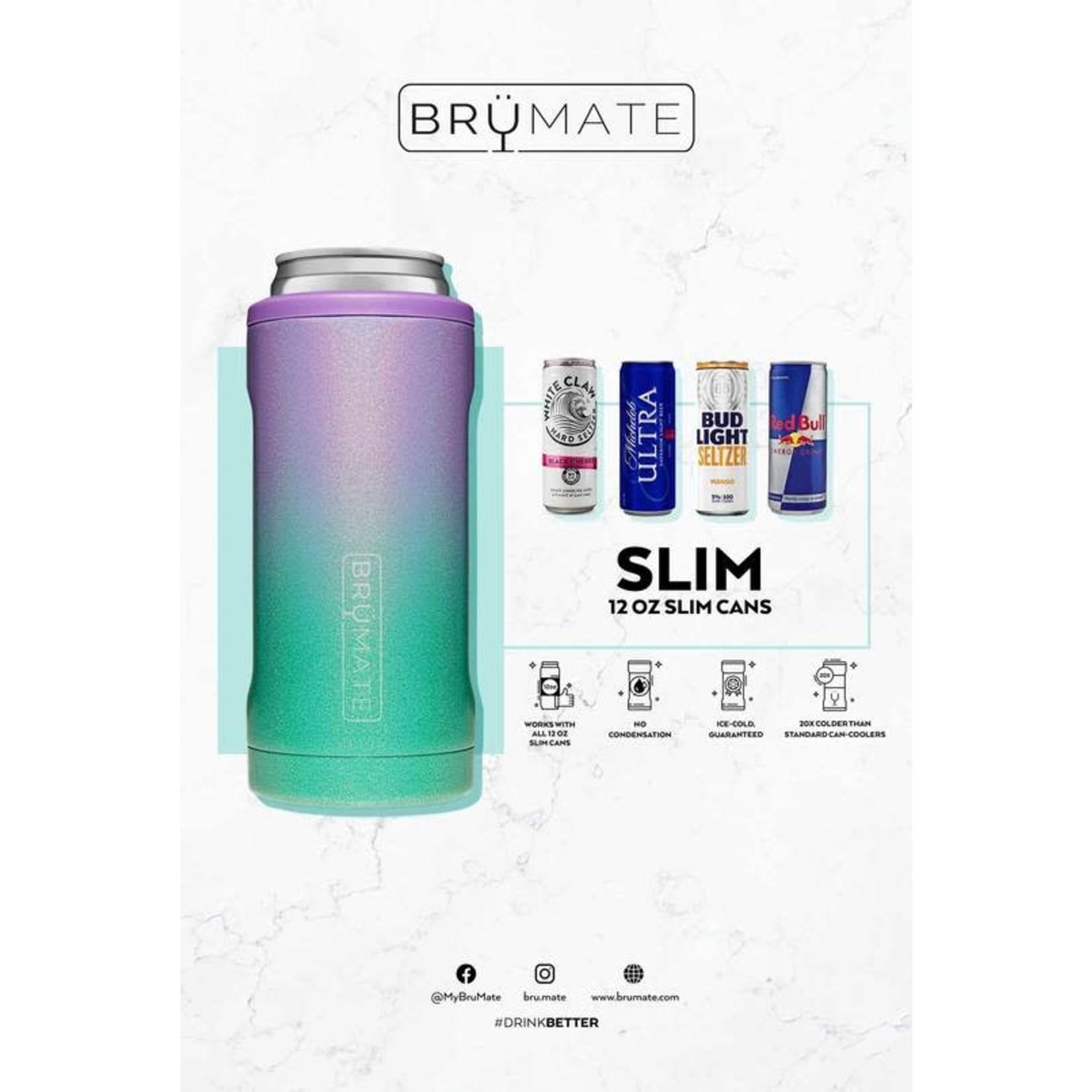 BruMate Hopsulator Slim in Glitter Blush