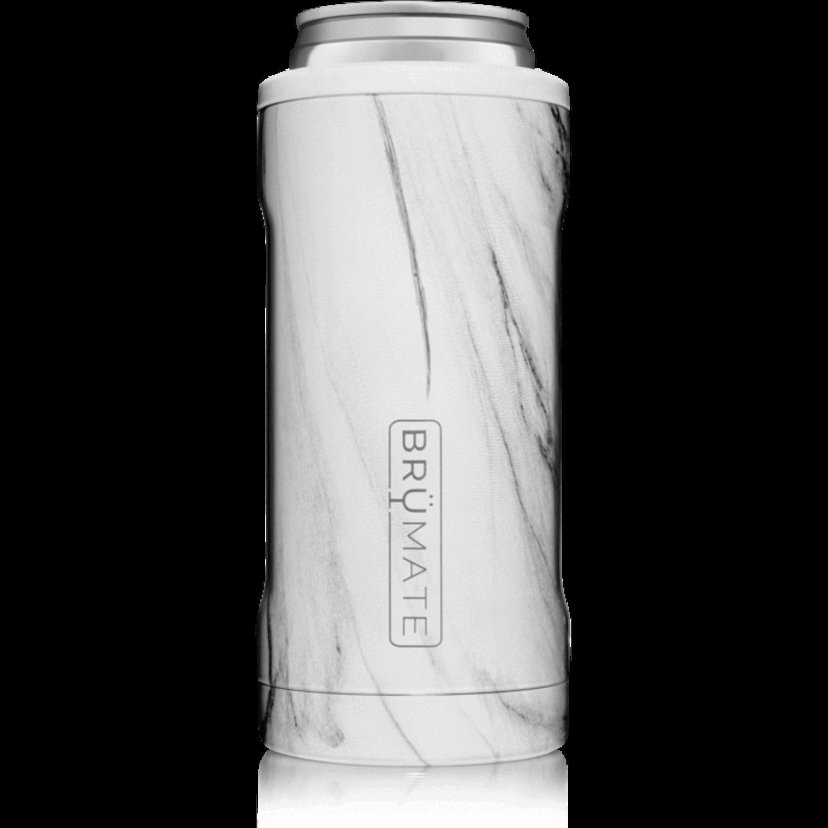 BruMate Hopsulator Slim in Carrara Marble