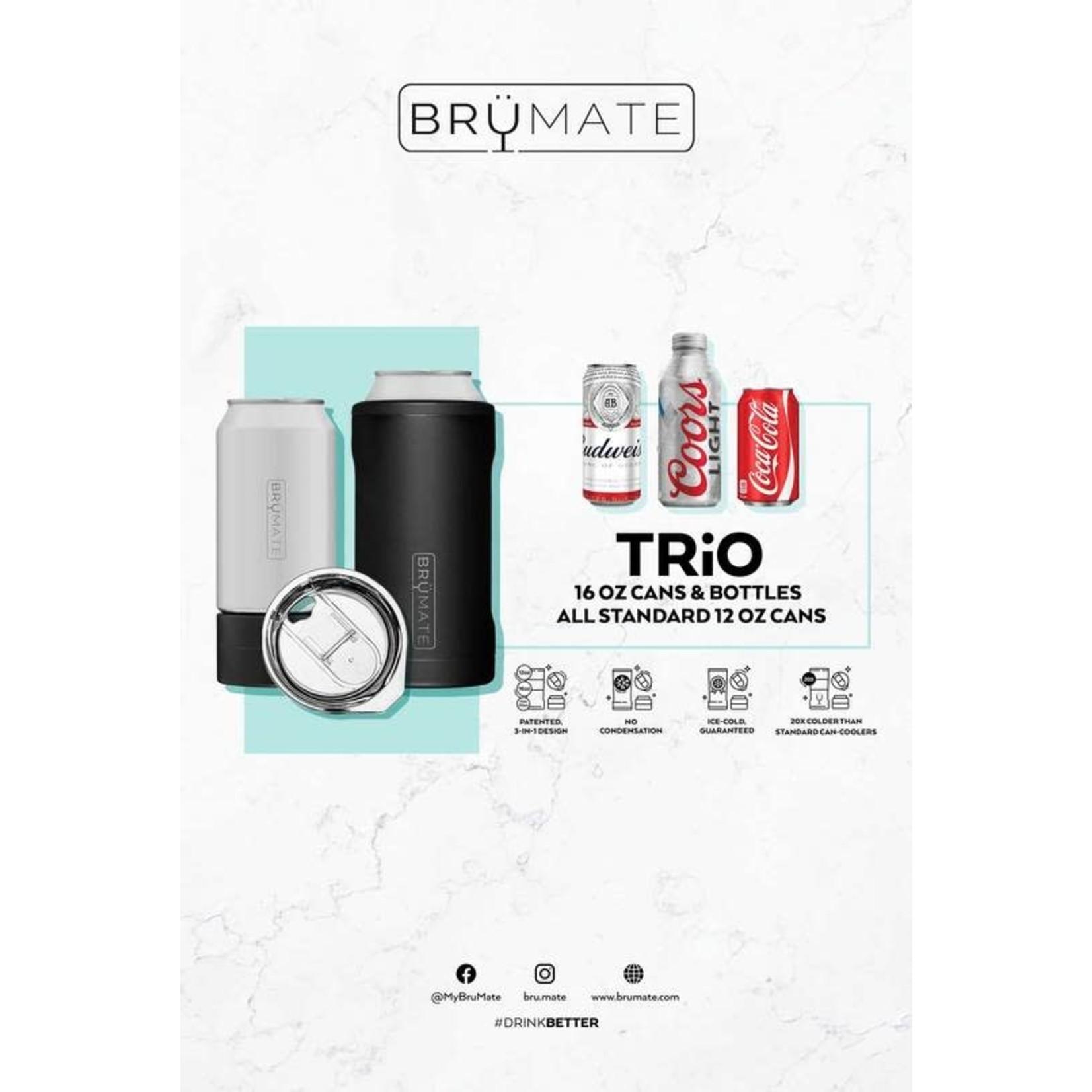 BruMate Hopsulator Trio in Onyx Leopard