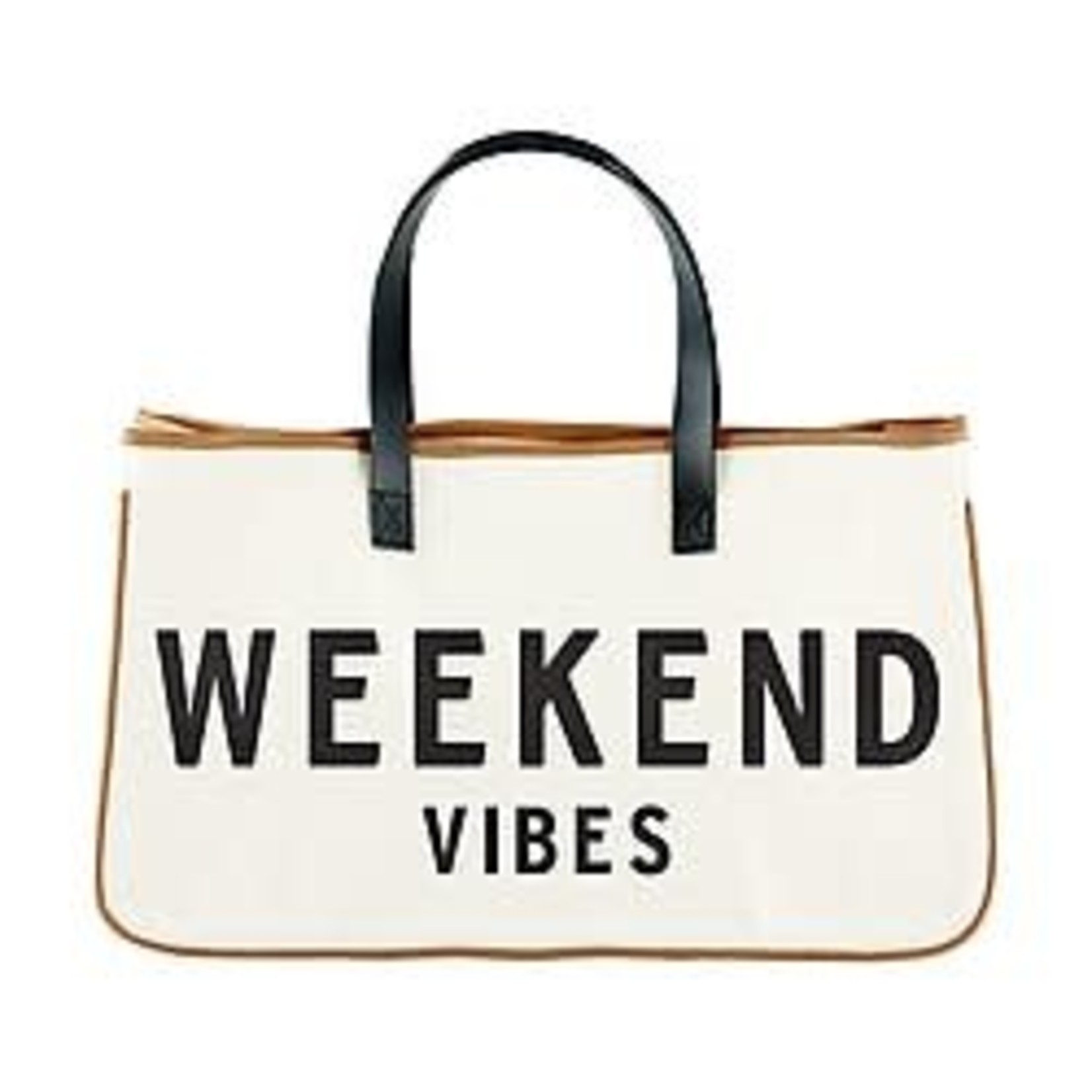 Canvas Weekend Vibes Tote