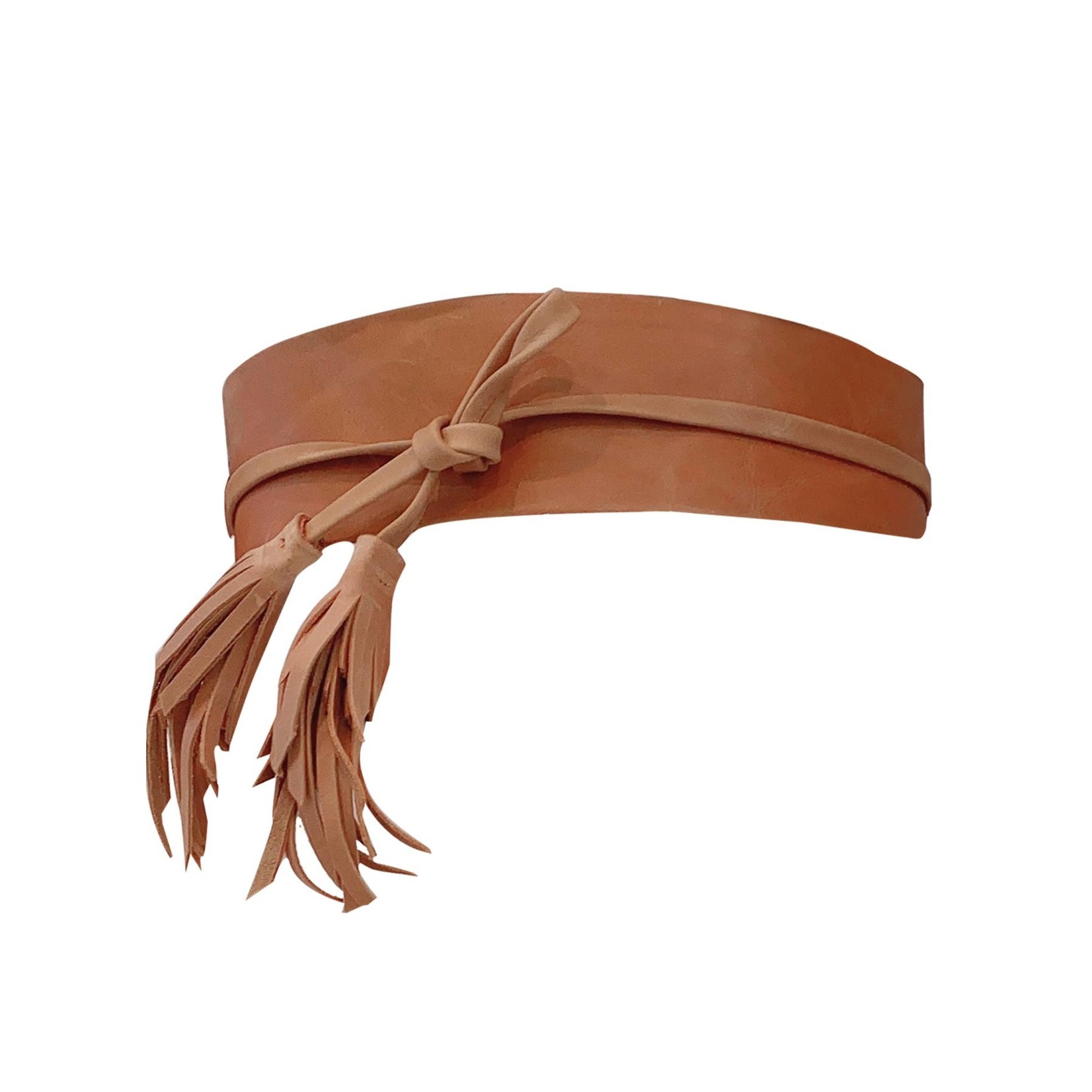 ADA Tilly Leather Wrap Belt in Tan
