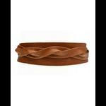 ADA Original Leather Wrap Belt in Cognac