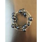 Sea Lily Tahitian Shell Pearl Wrap Bracelet