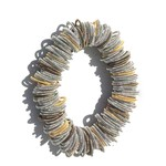 Sea Lily Gold/Silver Spring Ring Bracelet