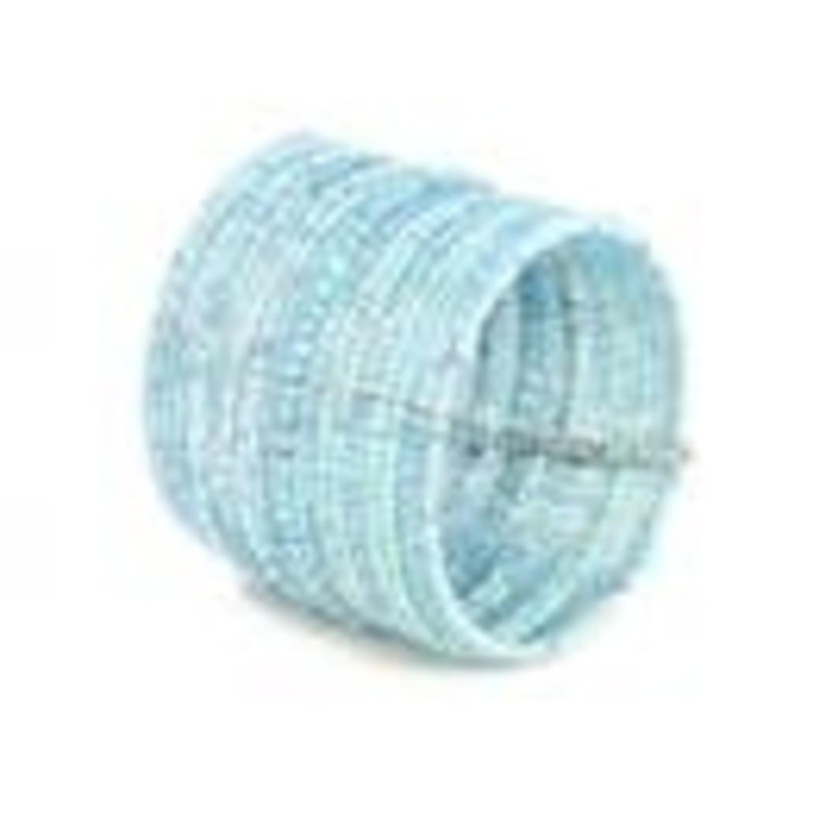 Suzie Blue Canada Wide Beaded Cuff in Turquoise