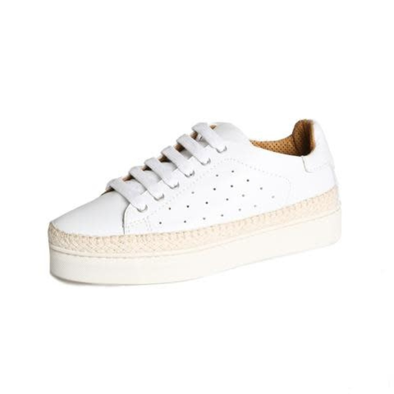 The Flexx Hi Tide Too Kind Basic White Sneaker