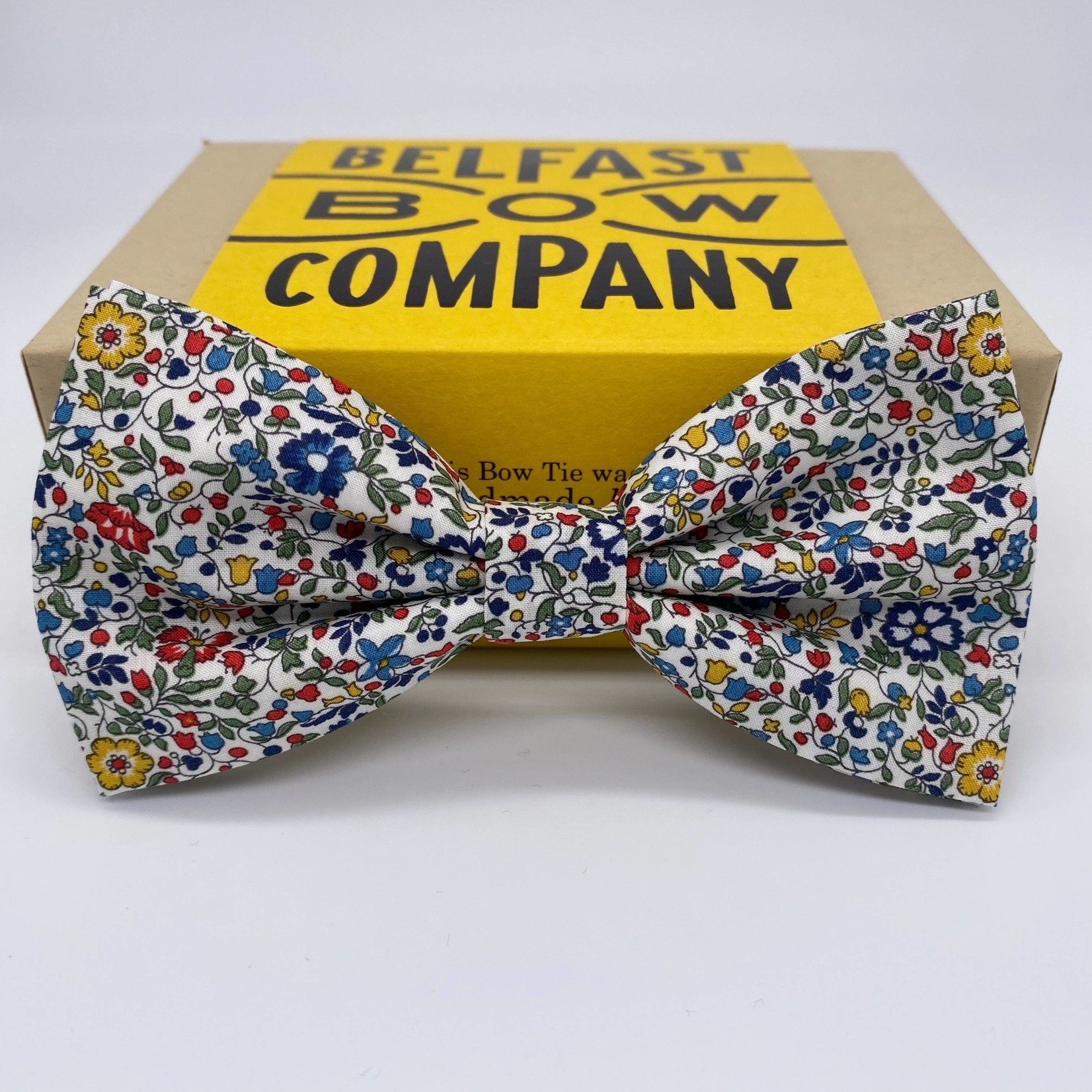 Belfast Bow Company Bow Tie in Liberty of London Multi Ditsy Floral