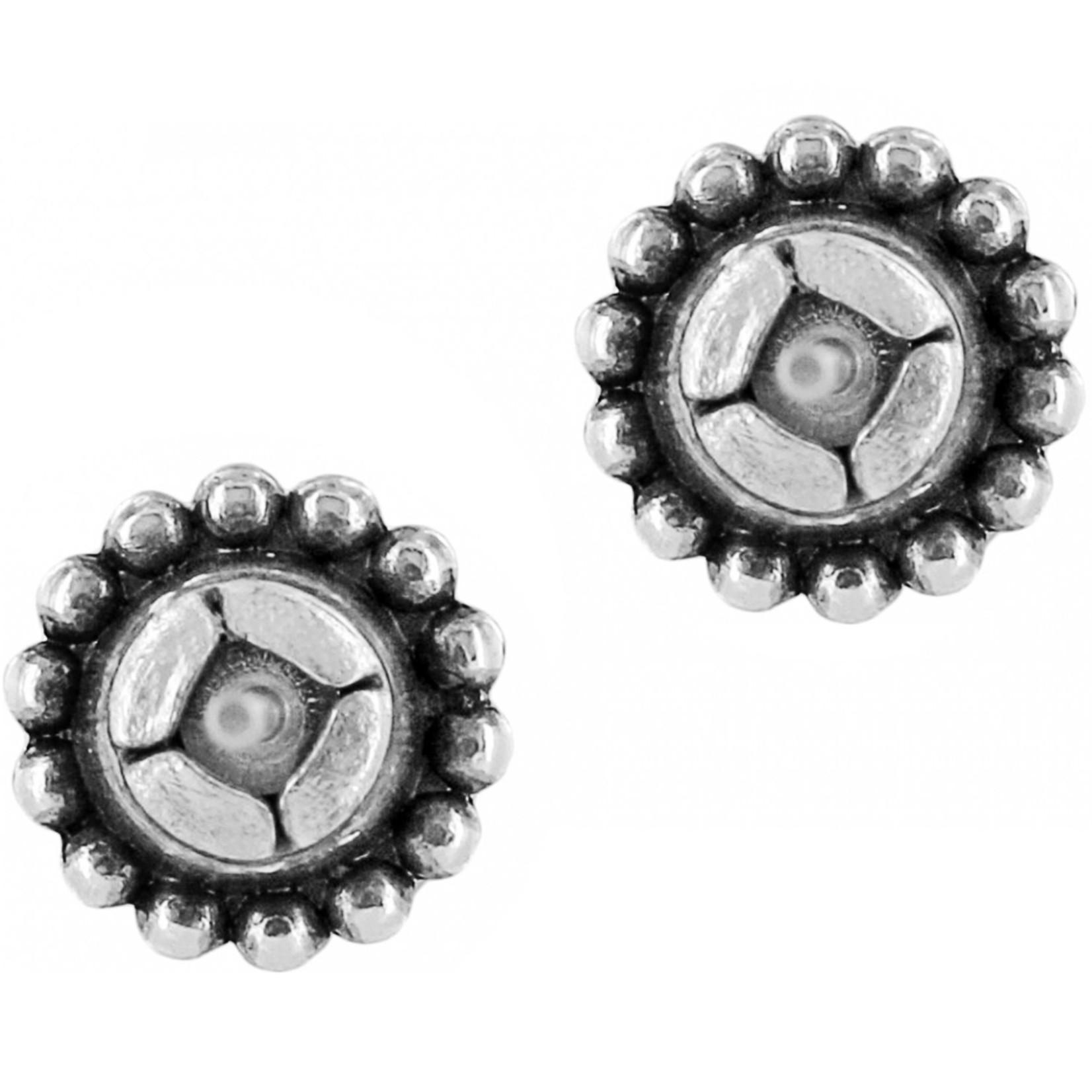 Brighton Twinkle Mini Post Earrings; Size : Black