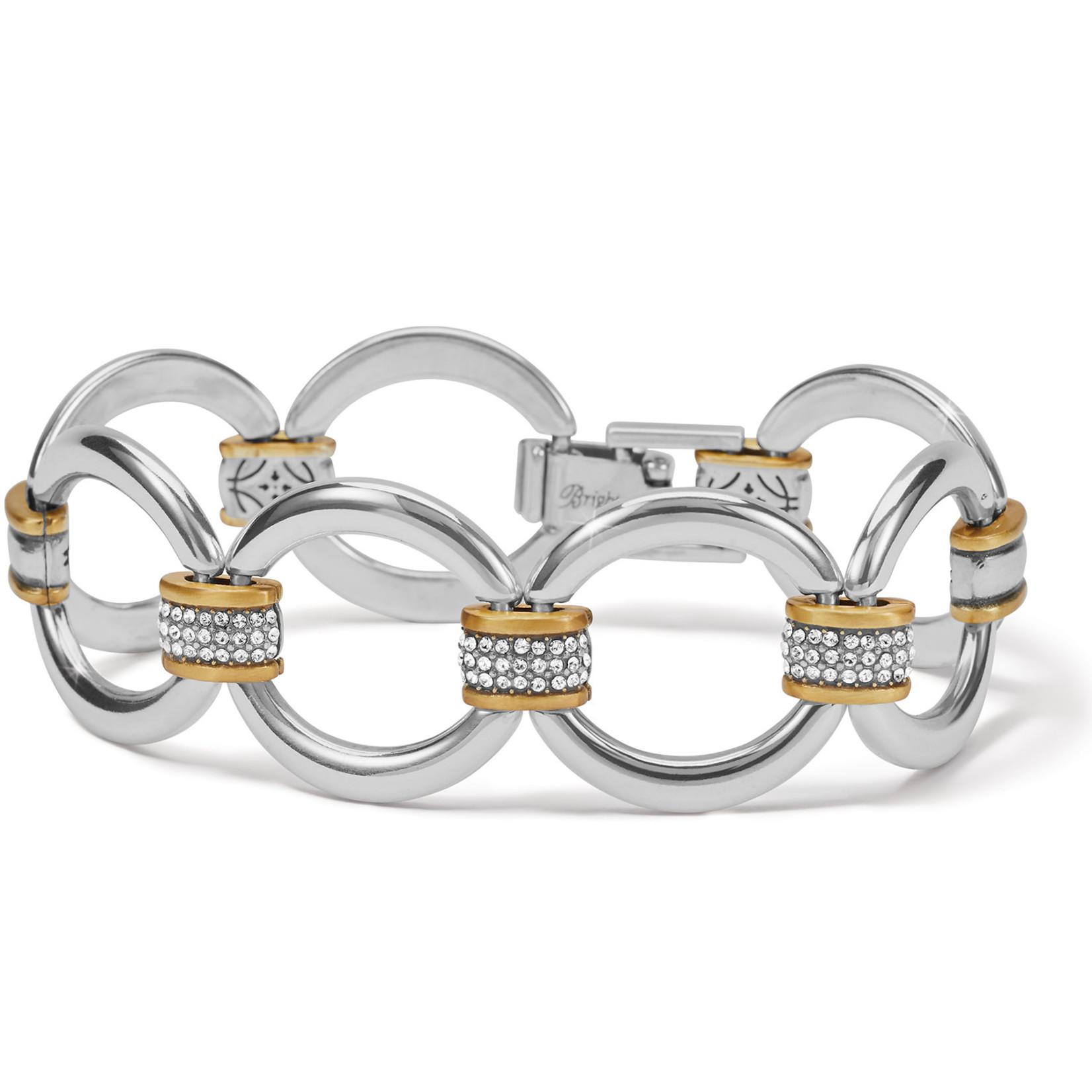 Brighton Meridian Tempo Link Bracelet - Silver-Gold