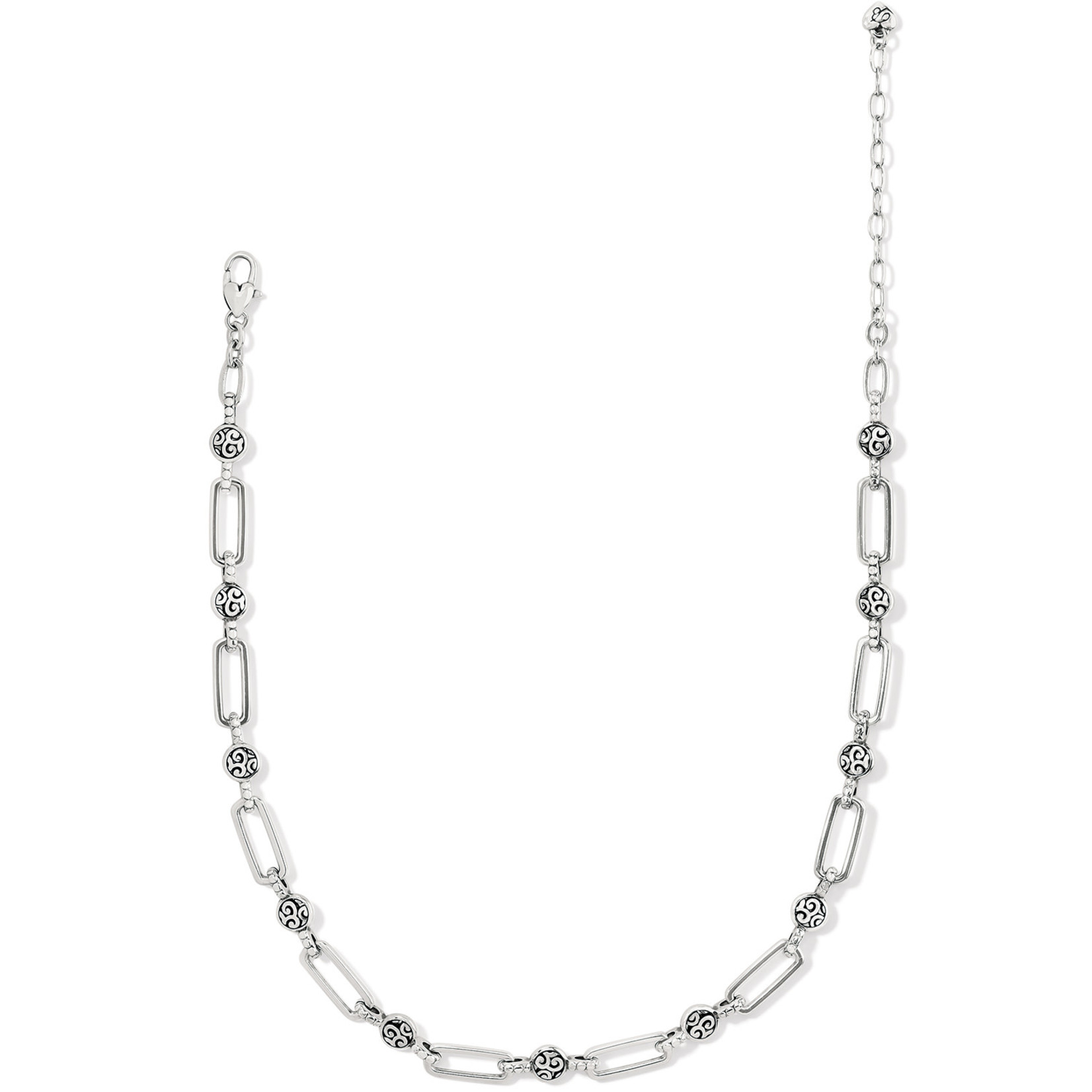 Brighton Mingle Links Necklace - Silver