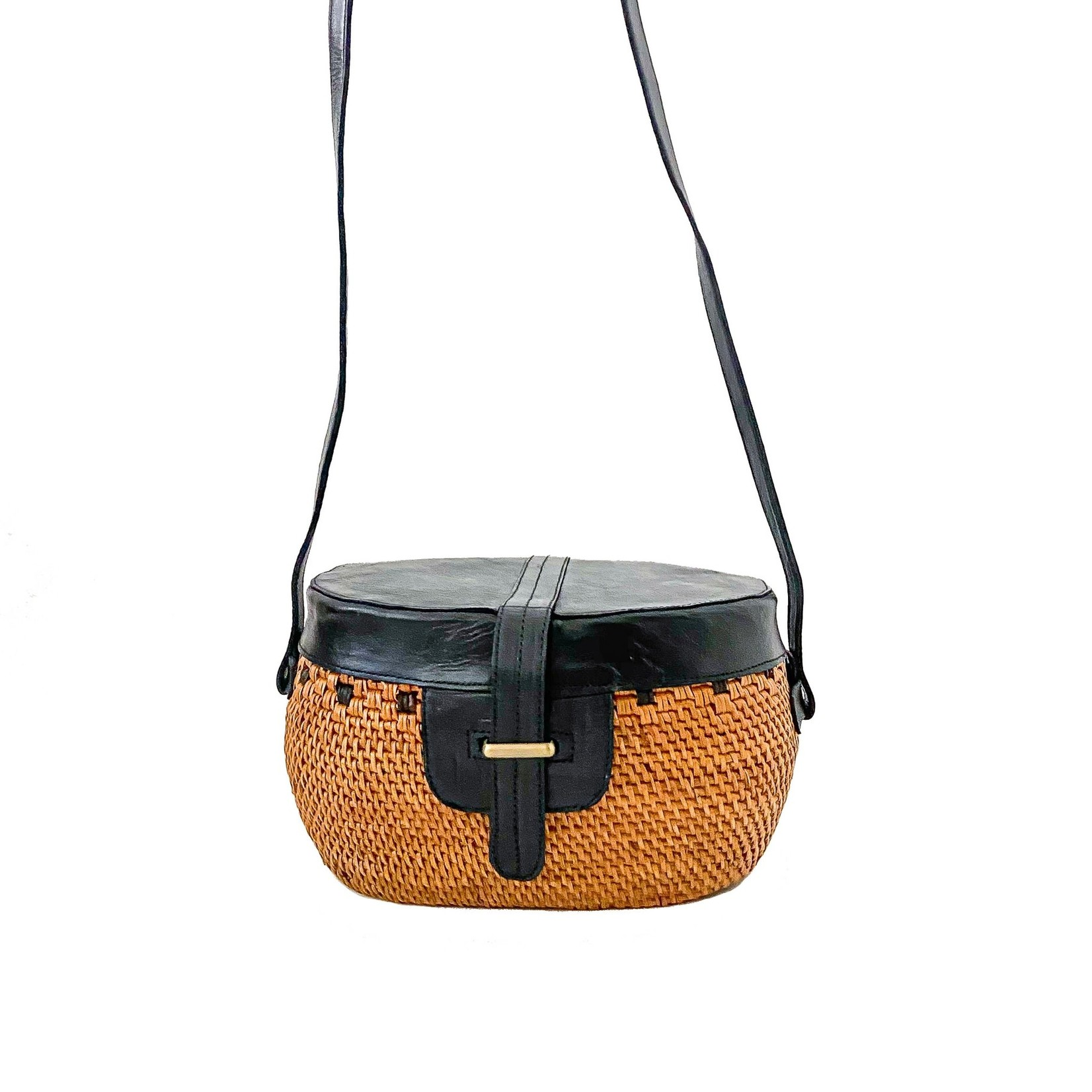 Everina Mariana Crossbody Bag in Black
