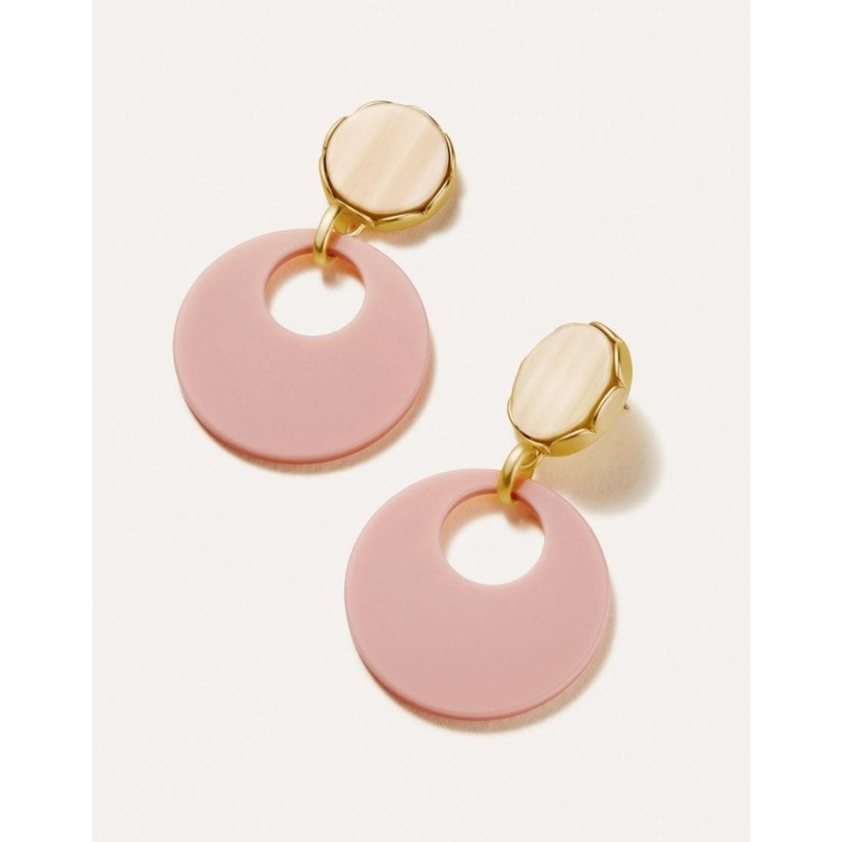 Spartina Mod Julie Earrings Pink