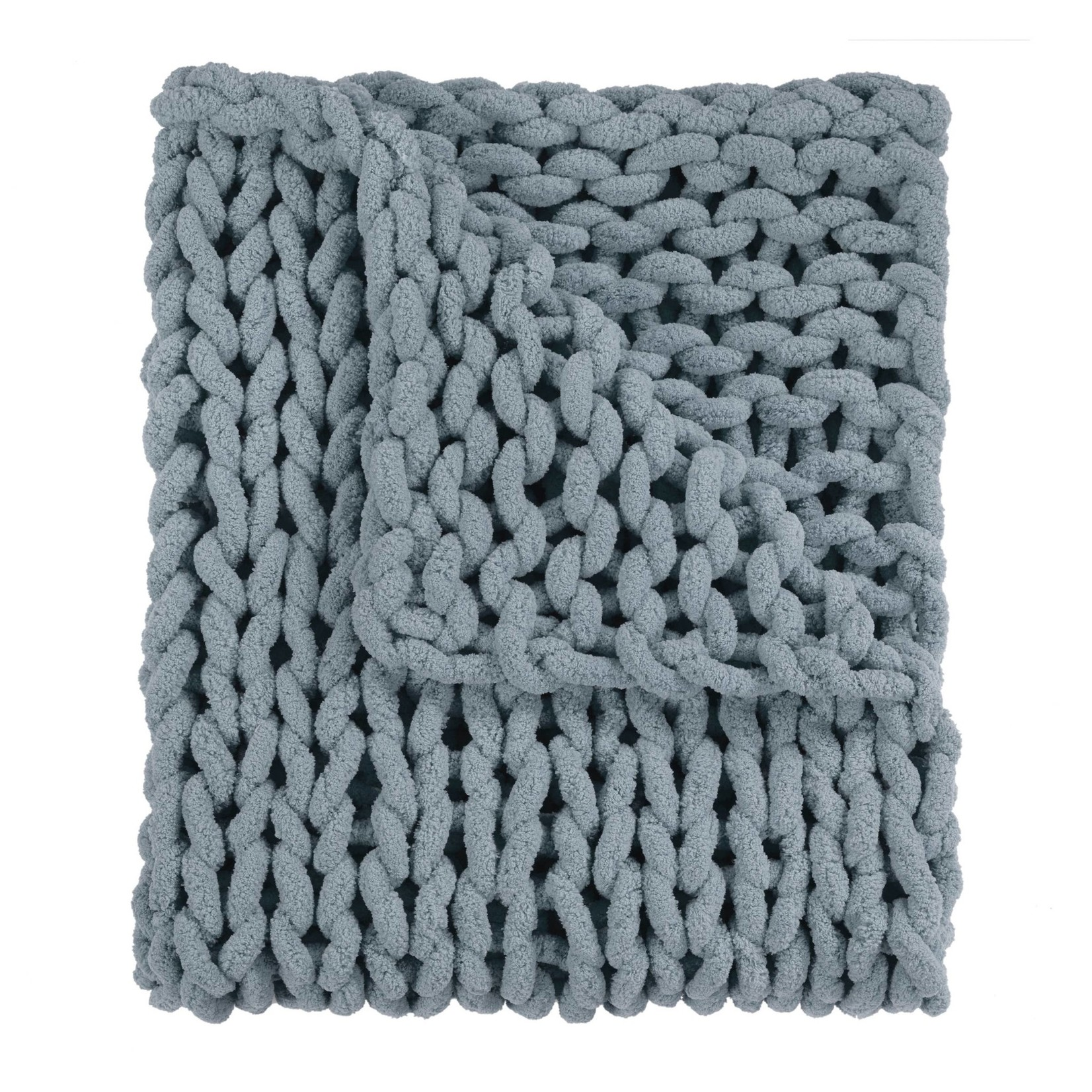 Seaside Chenille Chunky Knit Throw