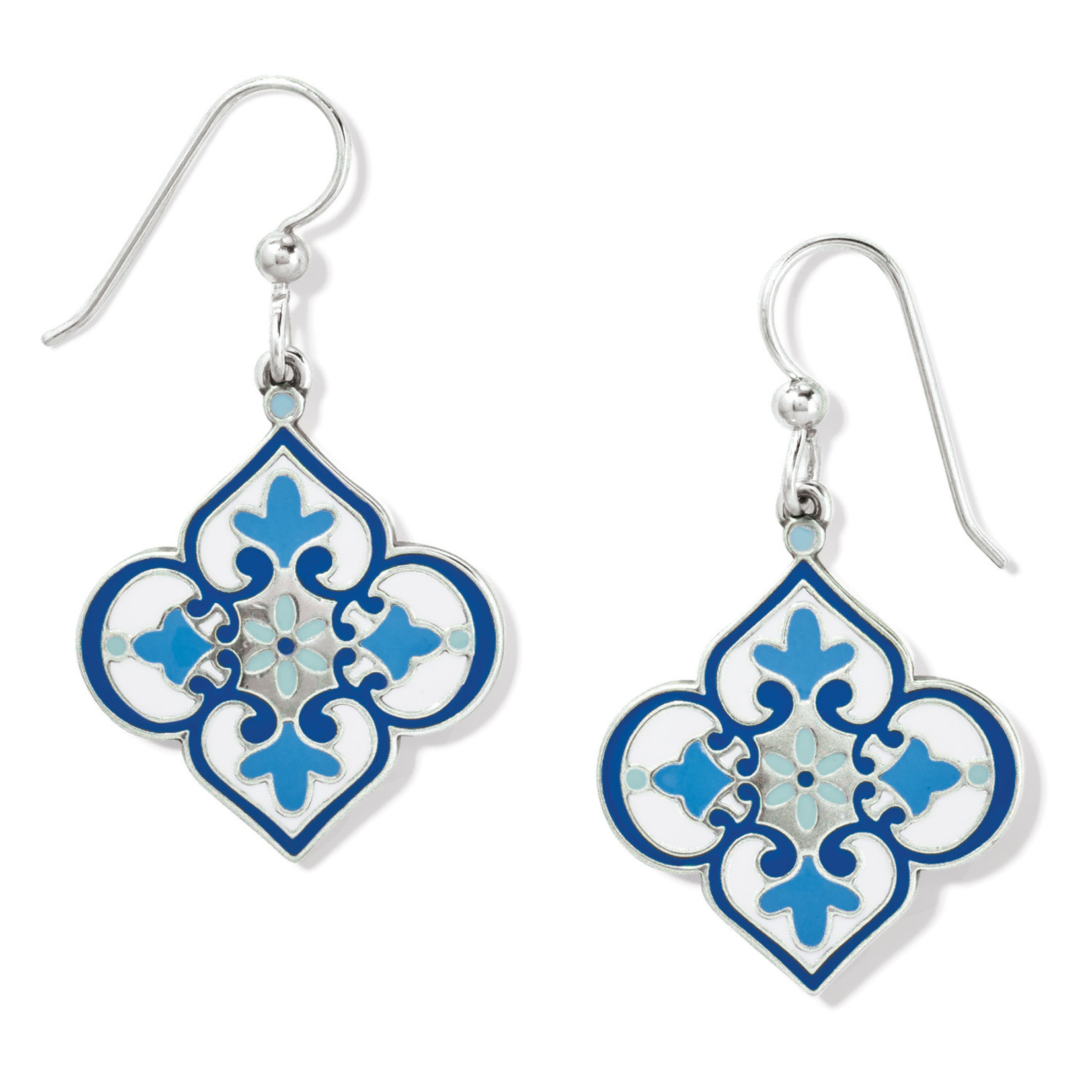 Brighton Florabella French Wire Earrings - Blues