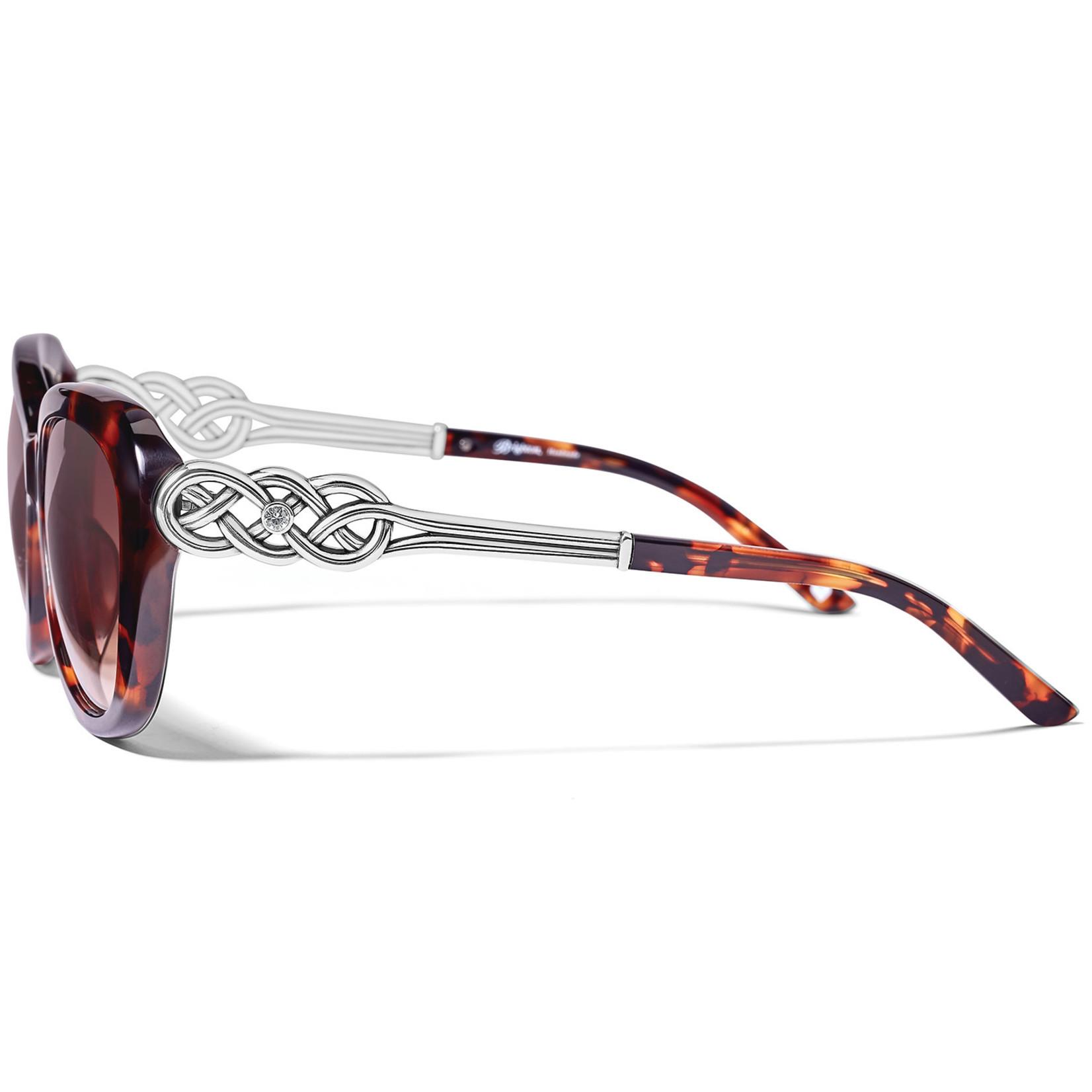 Brighton Interlok Cascade Sunglasses - Tortoise