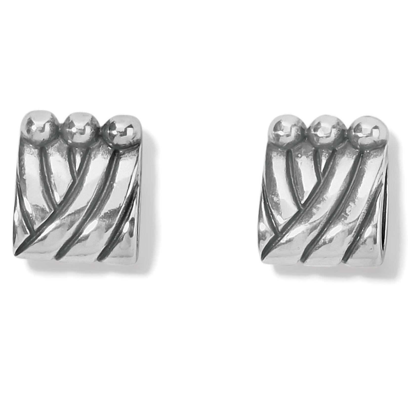 Brighton Sonora Tile Post Earrings - Silver