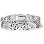 Brighton Contempo Token Tag ID Bracelet - Silver