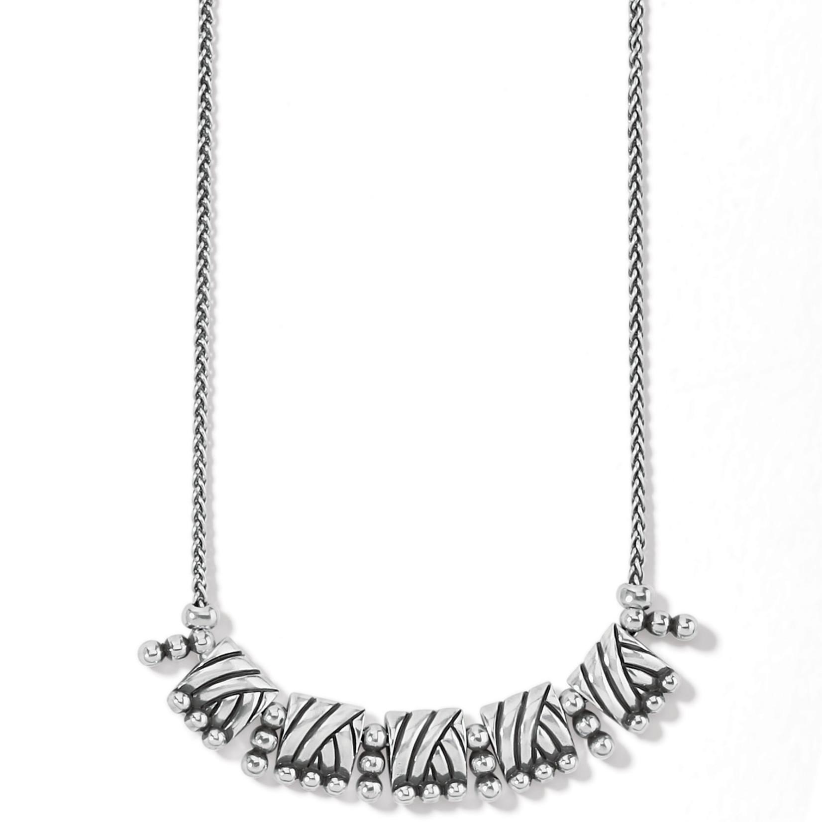 Brighton Sonora Tile Necklace - Silver
