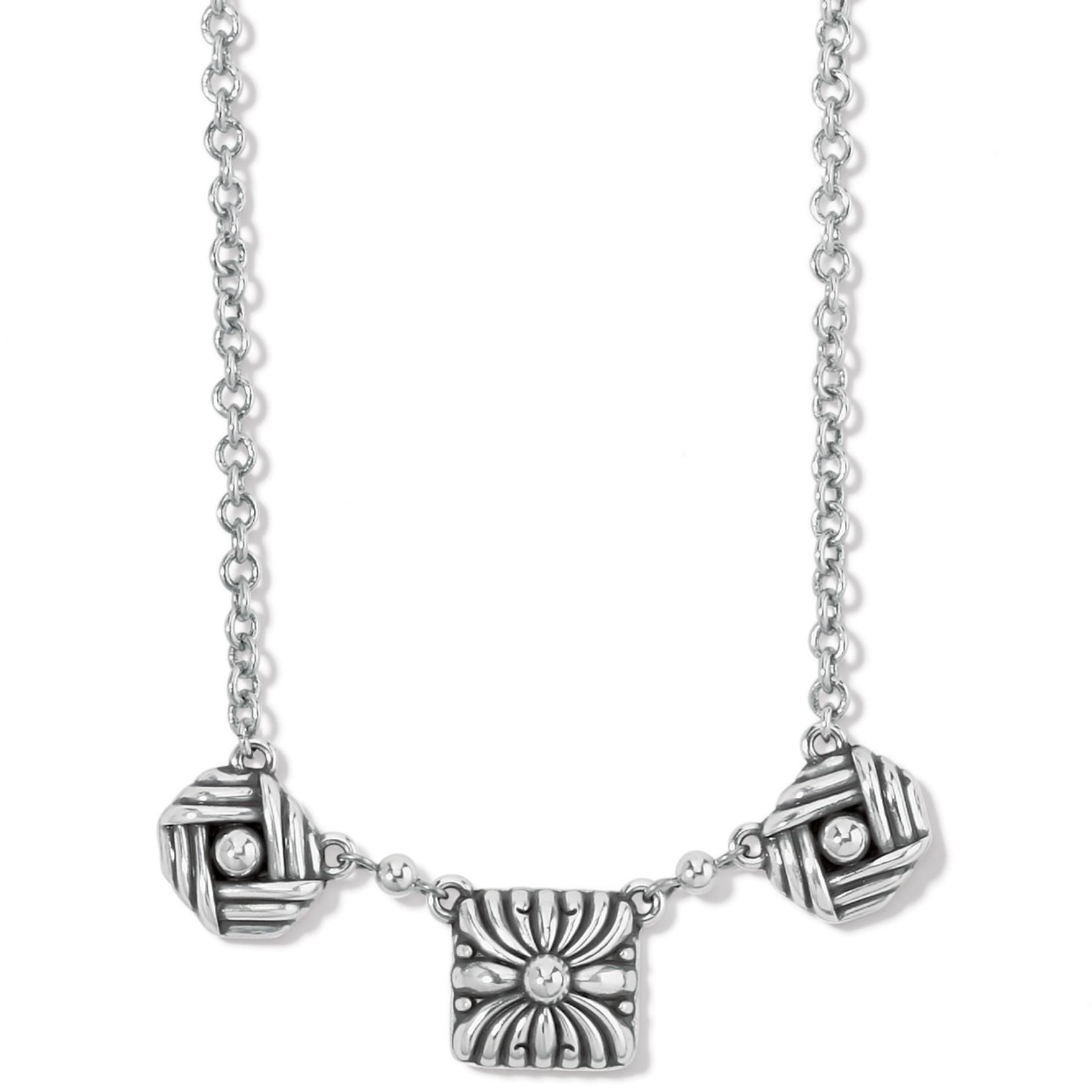 Brighton Sonora Motif Necklace - Silver