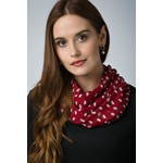Peony Accessories Sheep Scarf in Red