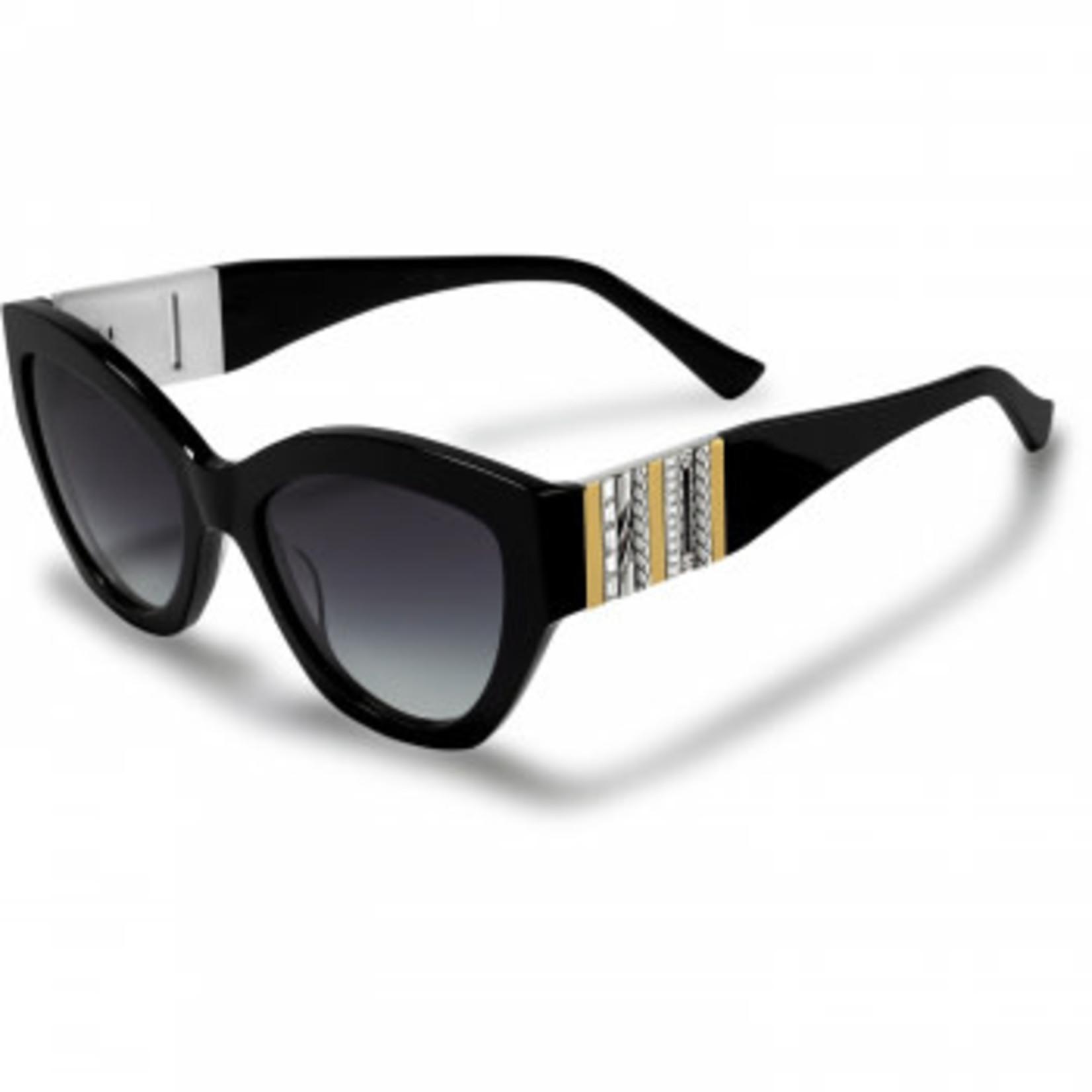 Brighton Tapestry Sunglasses Black-Multi