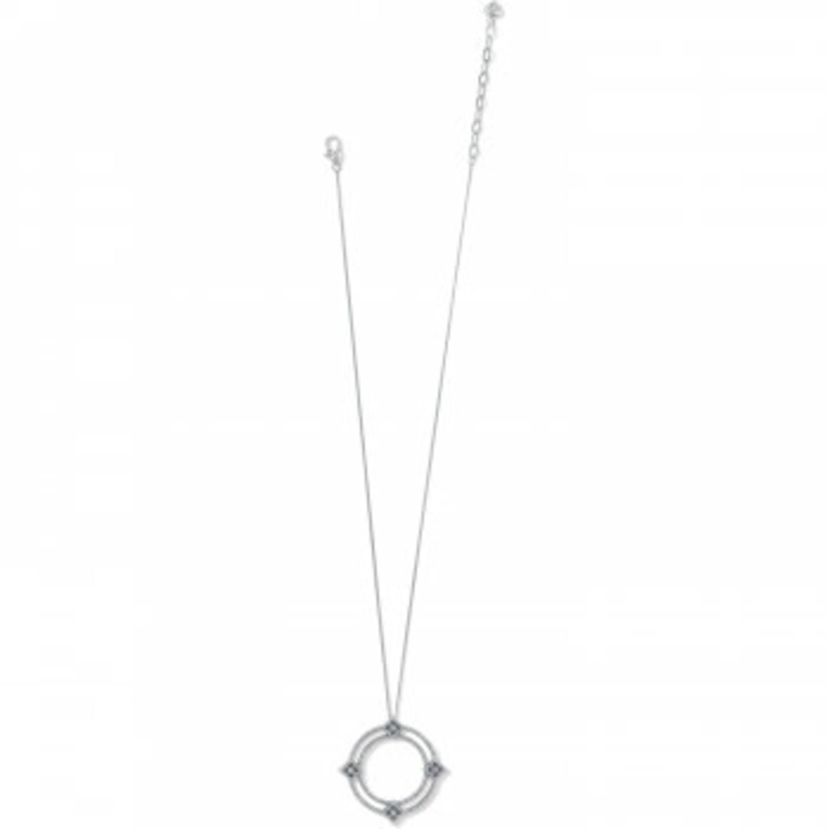 Brighton Illumina Diamond Ring Necklace - Silver