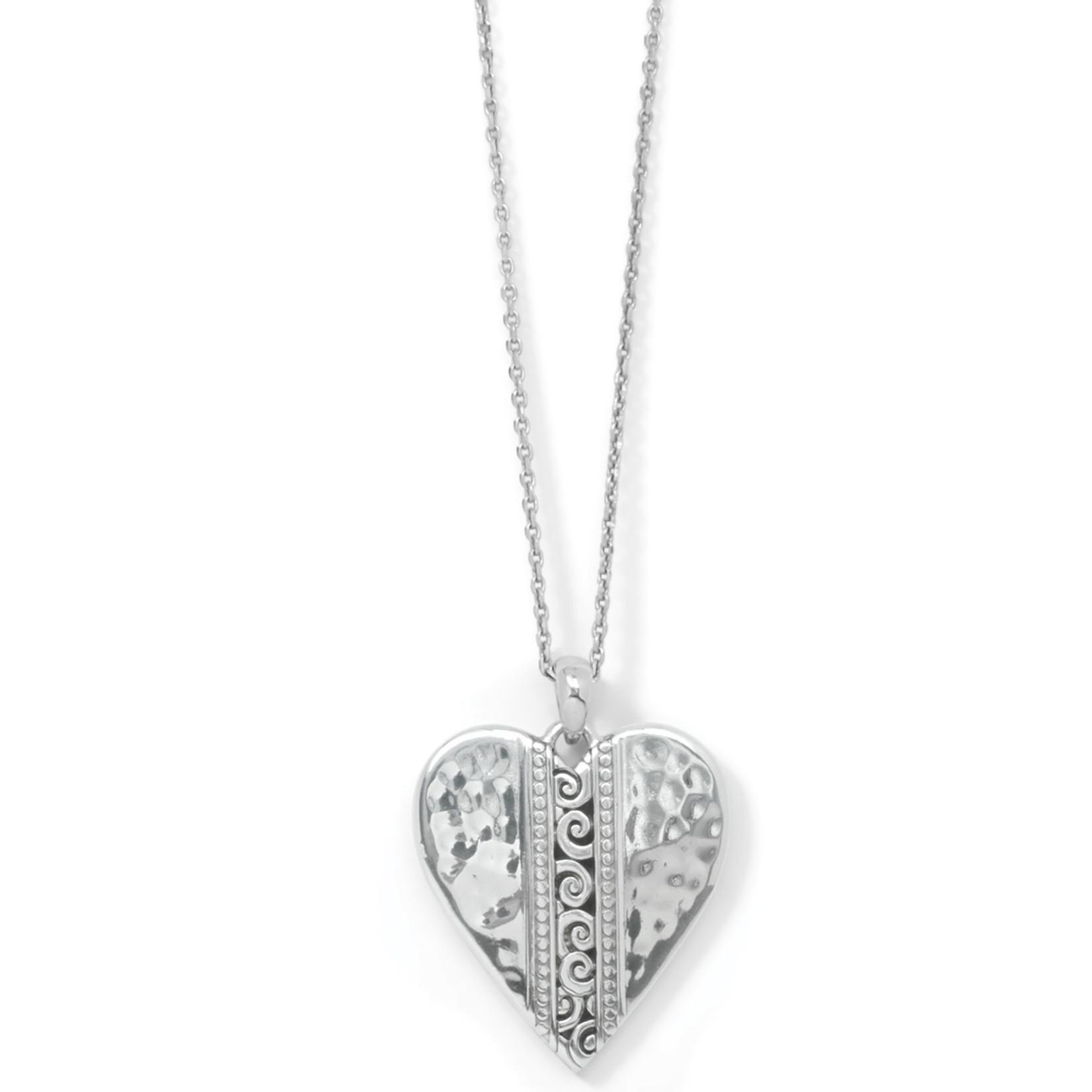 Brighton Mingle Adore Heart Necklace