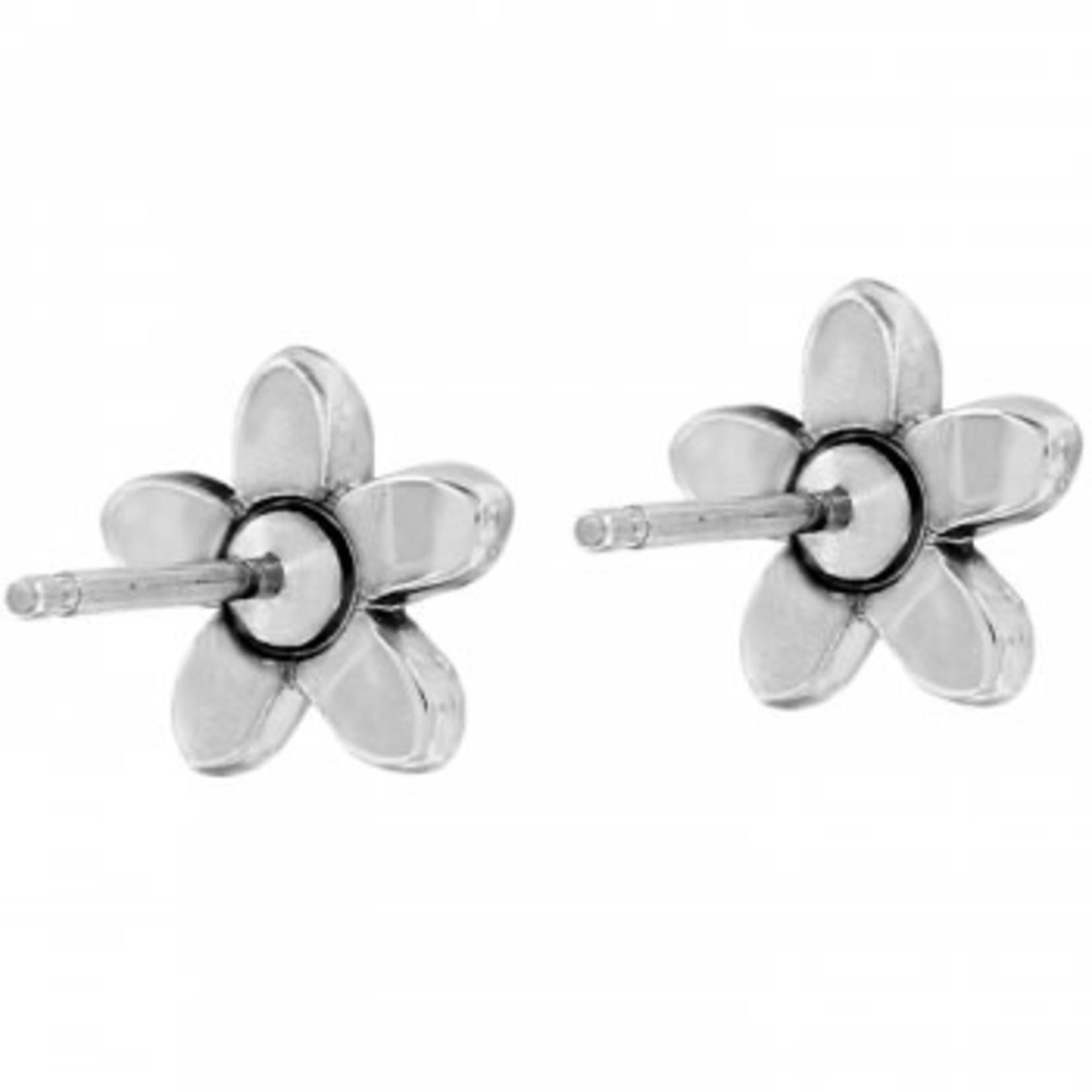 Brighton Baroness Fiori Mini Post Earrings Silver
