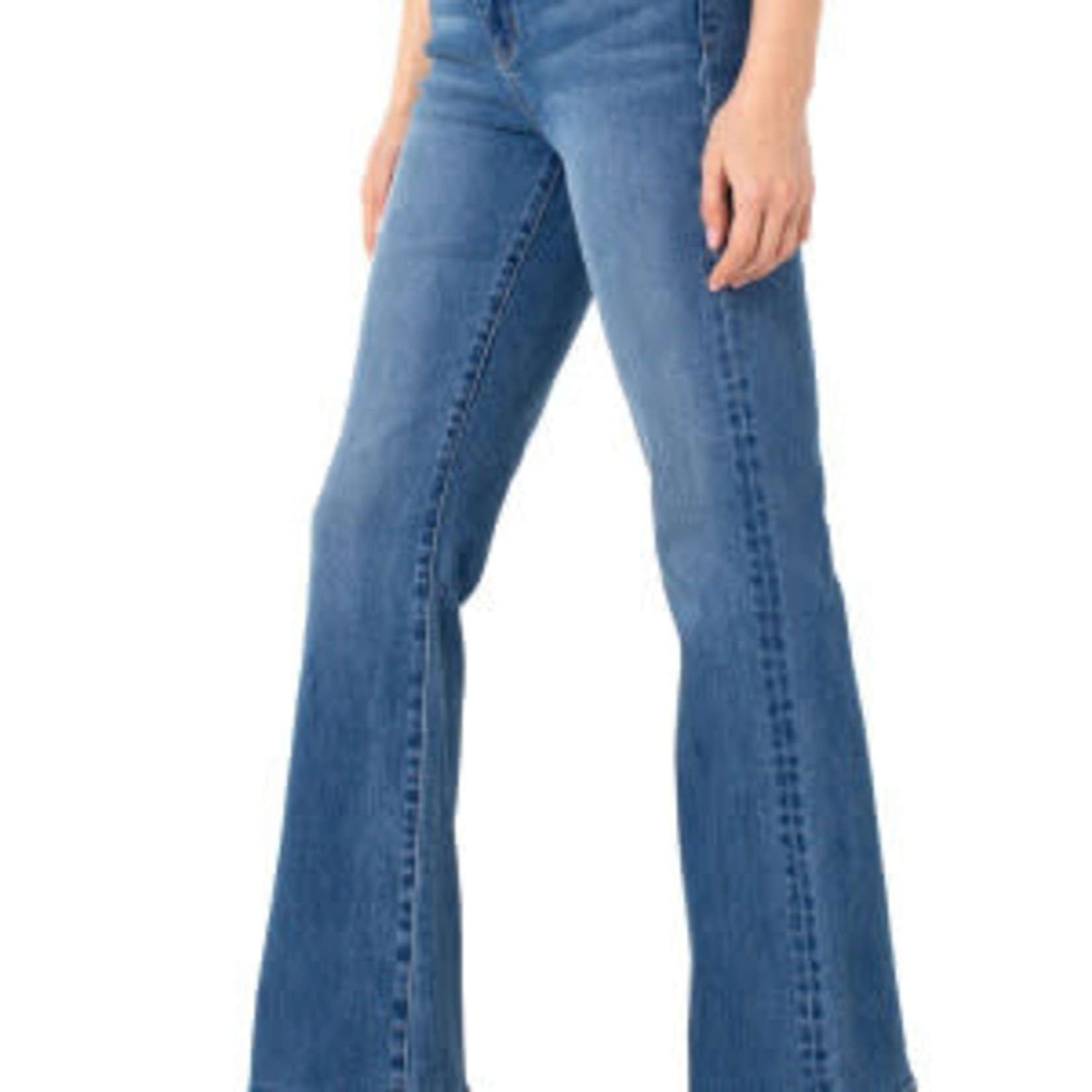 """Liverpool Lucy Bootcut Wide Waistband 33"""" inseam in Haring"""