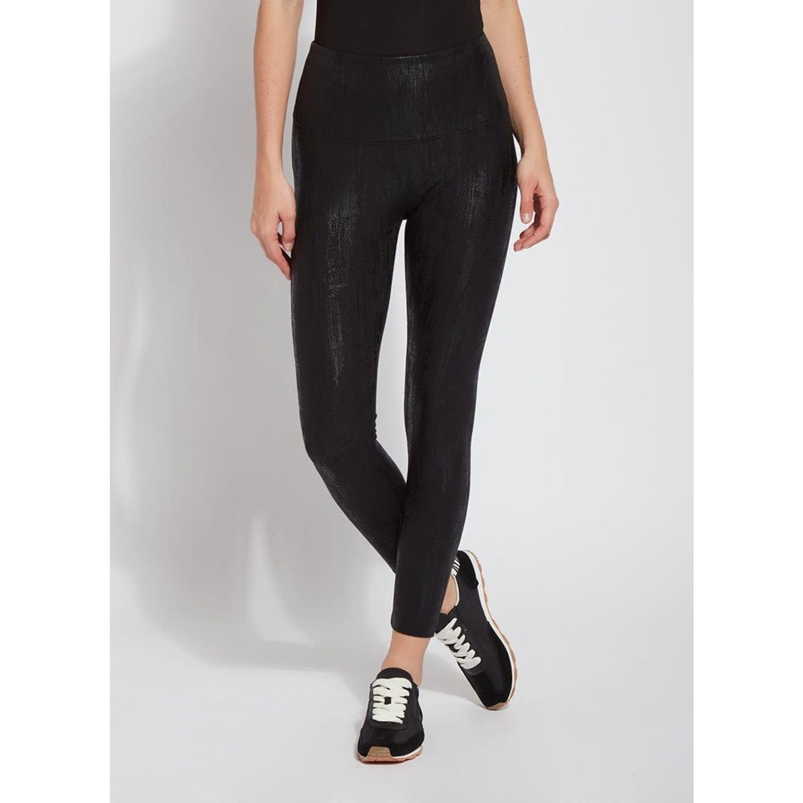 Flattering Cotton Legging in Liquid Black