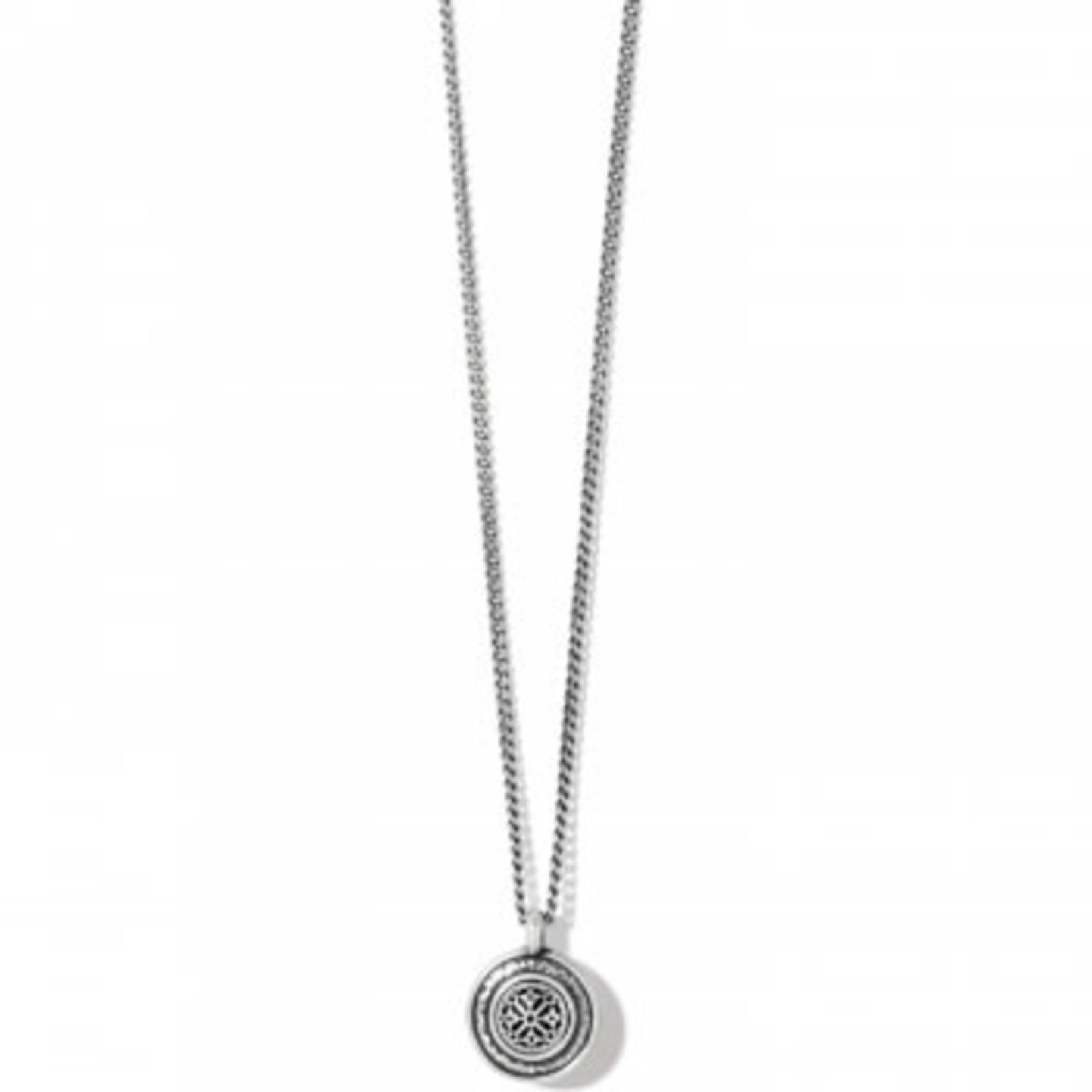 Brighton Ferrara Disc Petite Necklace