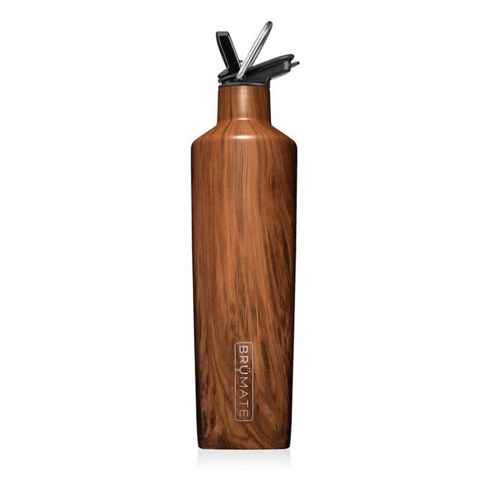 BruMate Rehydration 25 oz Bottle in Walnut