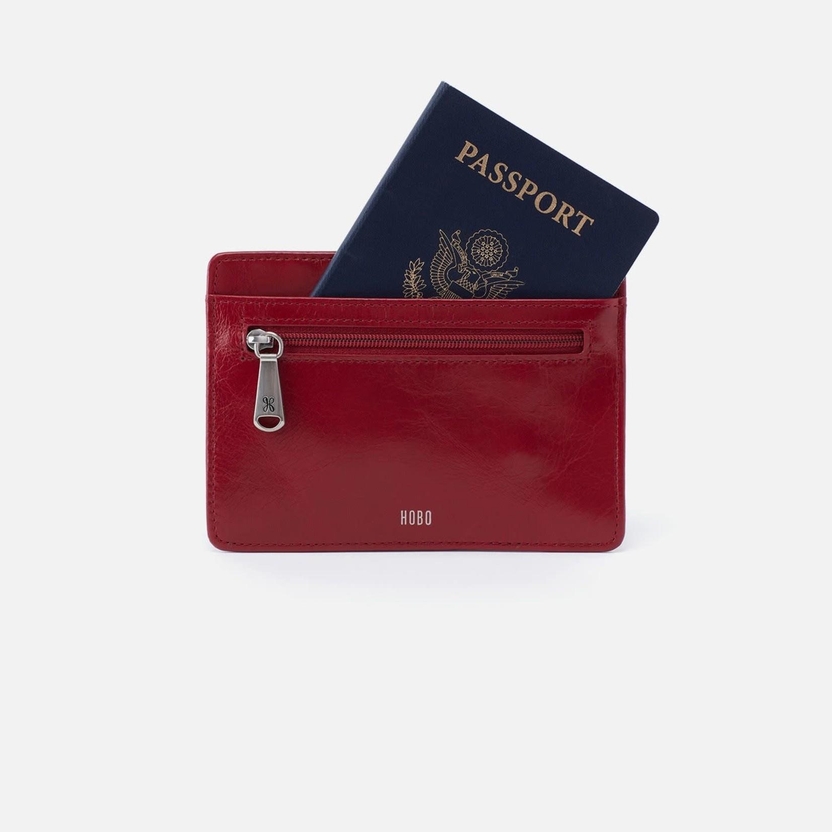 HOBO Euro Slide in Cardinal Vintage Leather