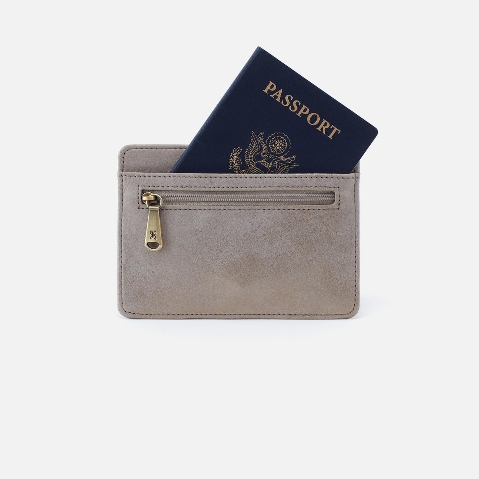 HOBO Euro Slide in Granite Gold Vintage Leather