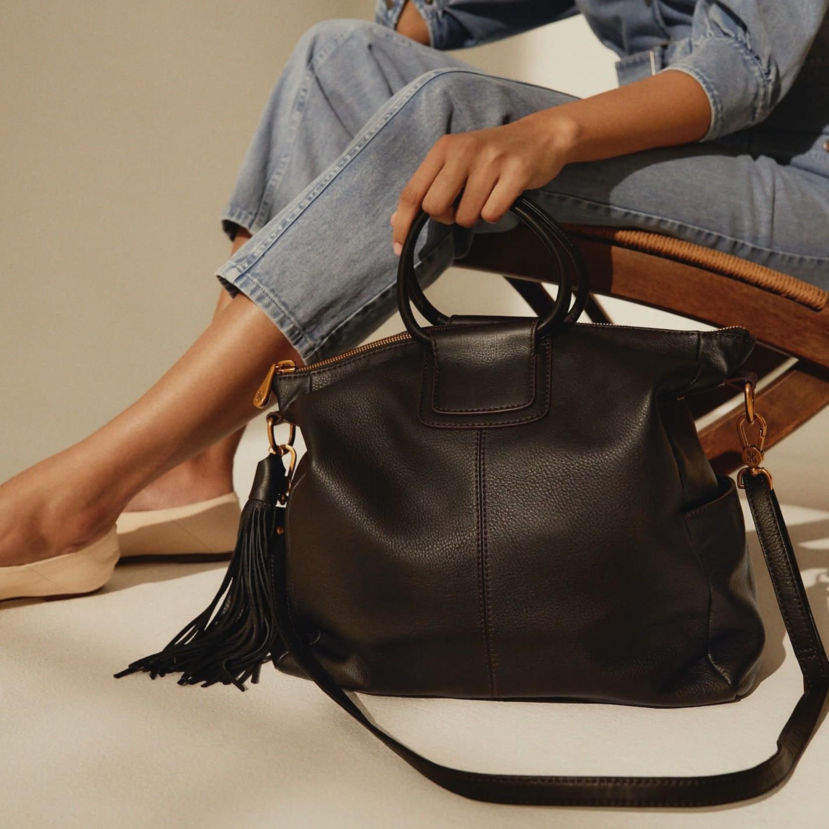 HOBO Sheila Black Soft Leather Tote