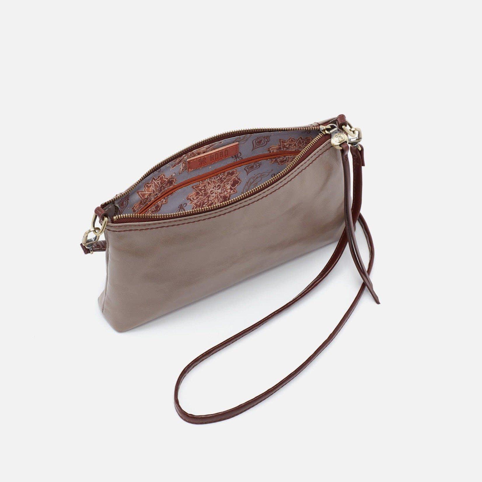 HOBO Darcy Ash Vintage Hide Leather Wristlet/Crossbody