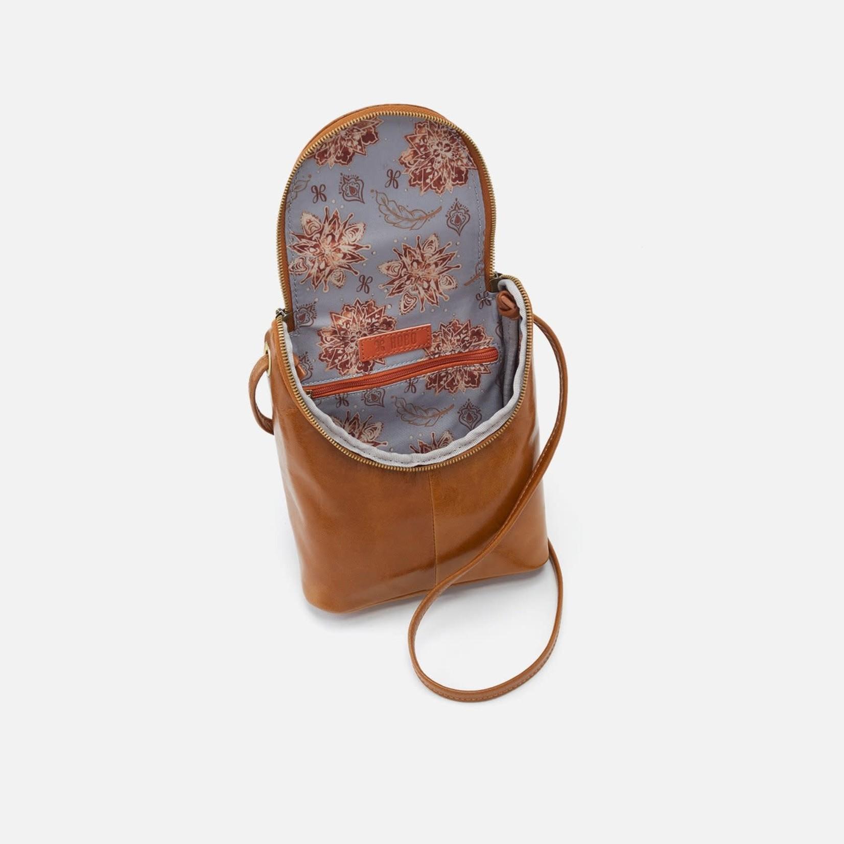 HOBO Fern Truffle Vintage Hide Leather Crossbody