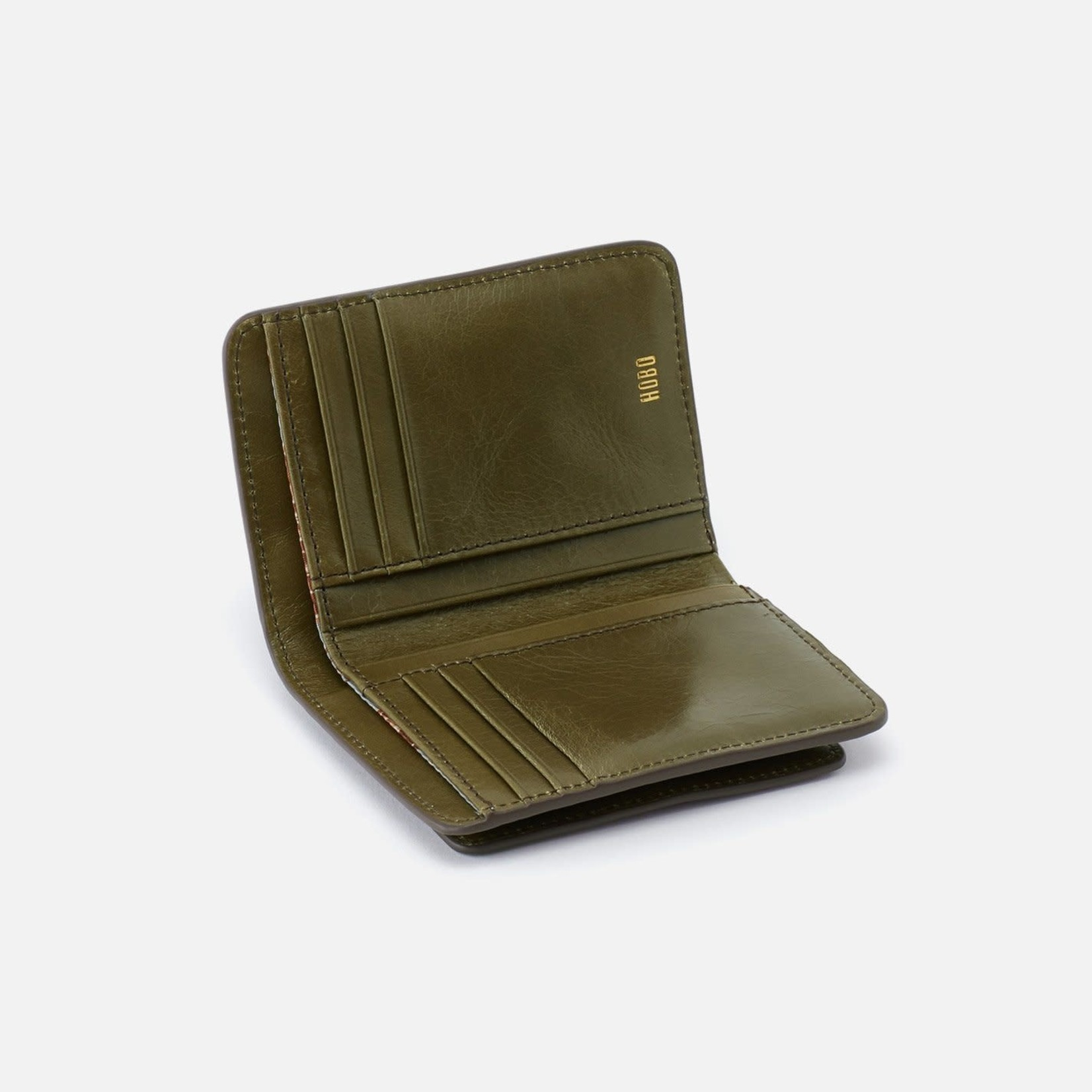 HOBO Vow Moss Vintage Hide Leather Wallet