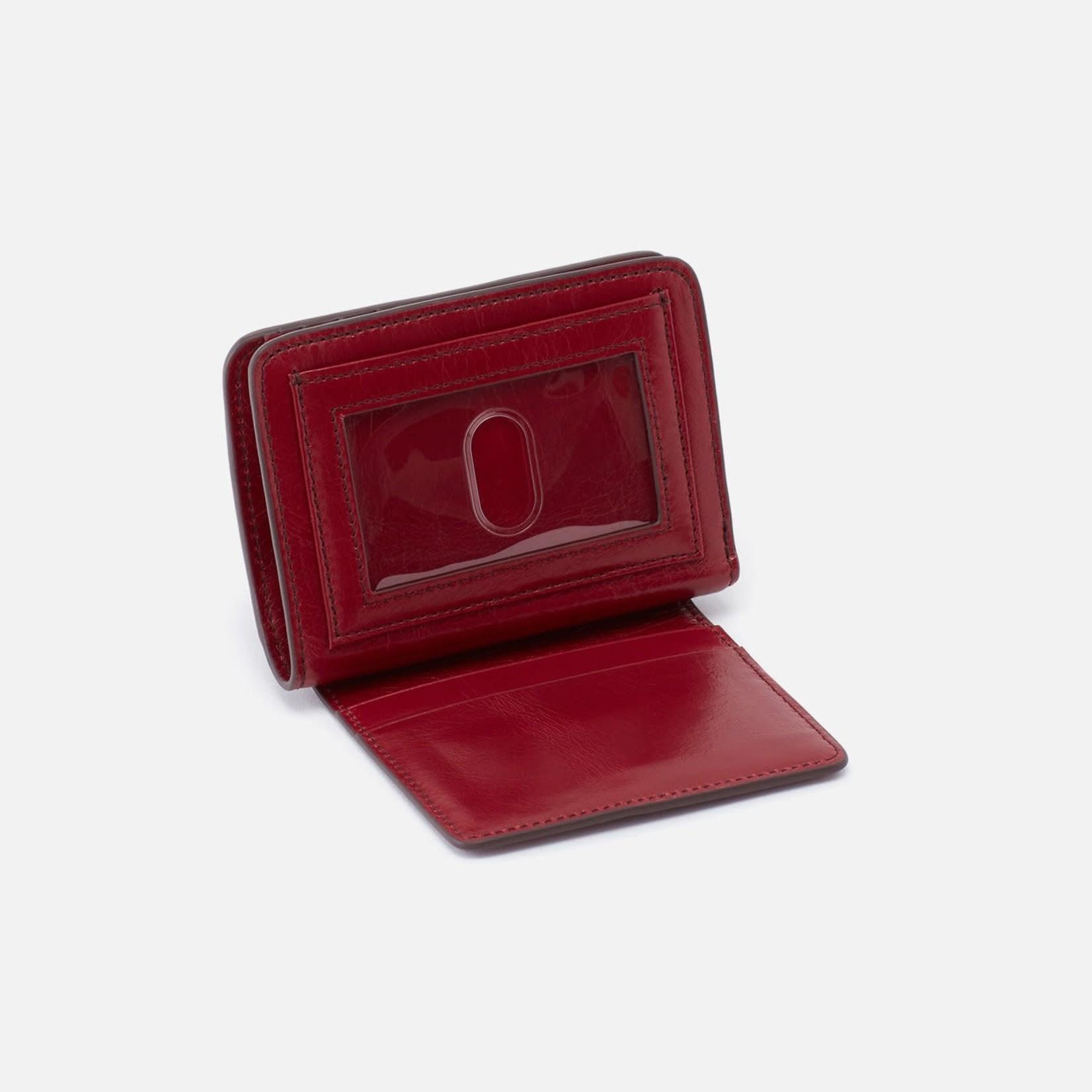 HOBO Vow Cardinal Vintage Hide Leather Wallet