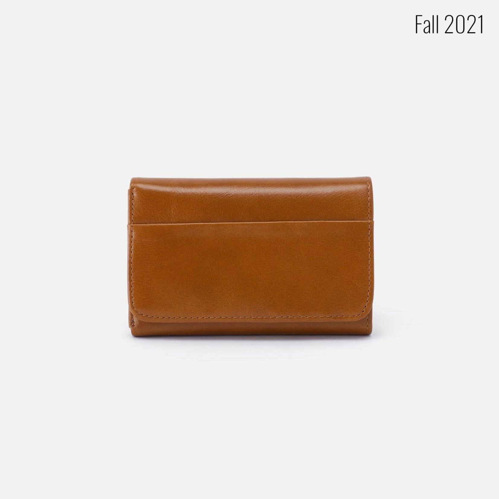 HOBO Jill Truffle Vintage Hide Leather Trifold Wallet