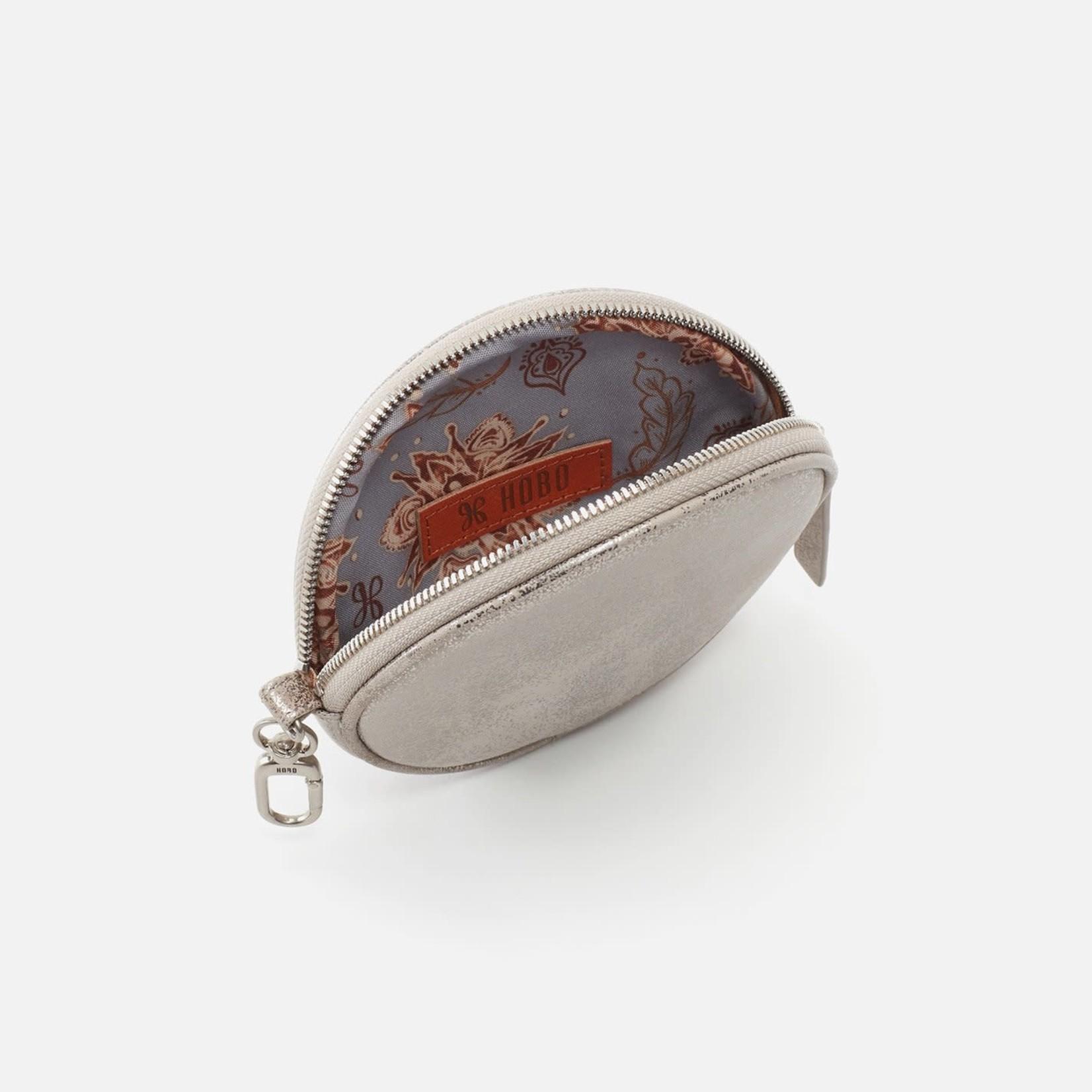 HOBO Revolve Granite Gold Leather Go Clip Pouch