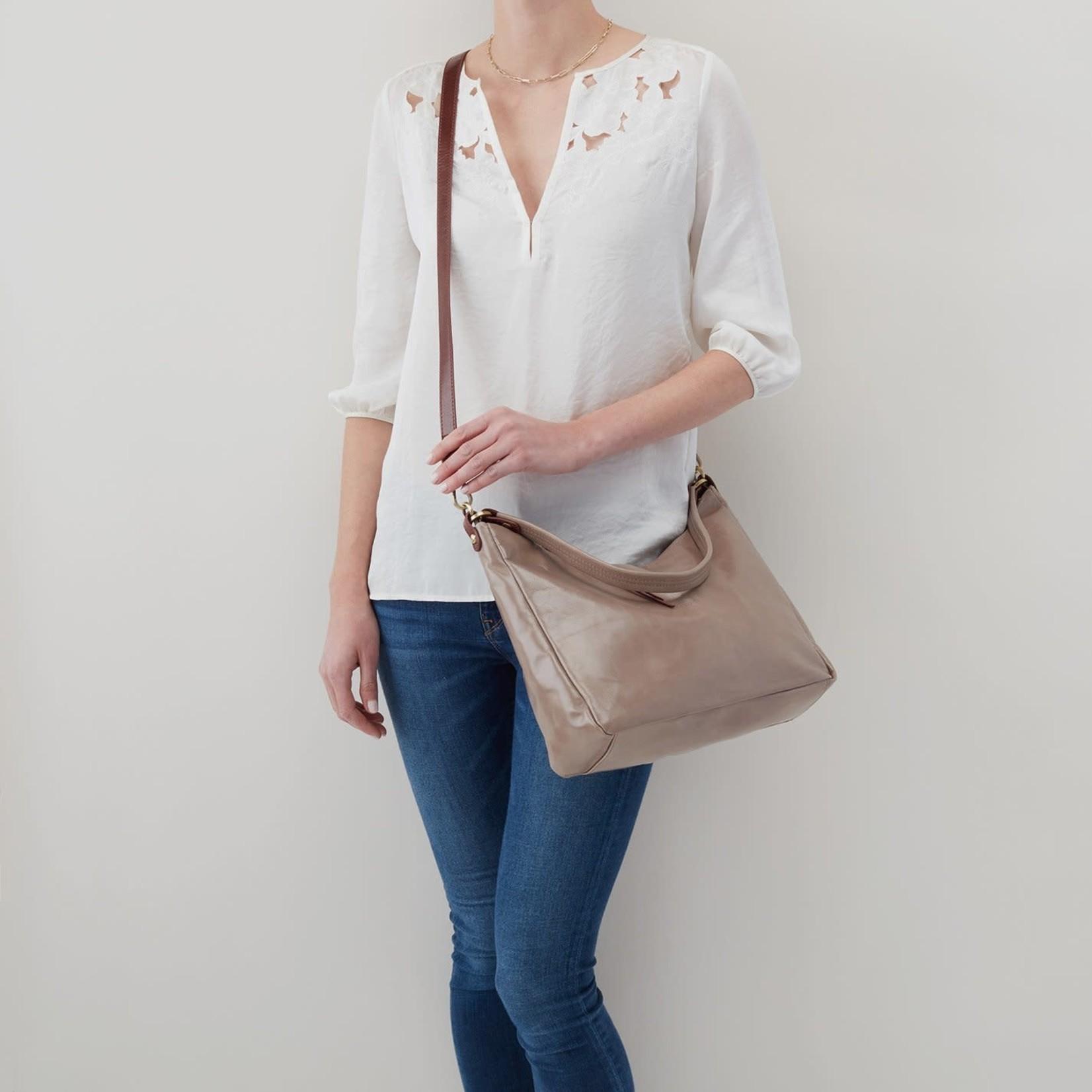HOBO Delilah Ash Vintage Hide Leather Handbag