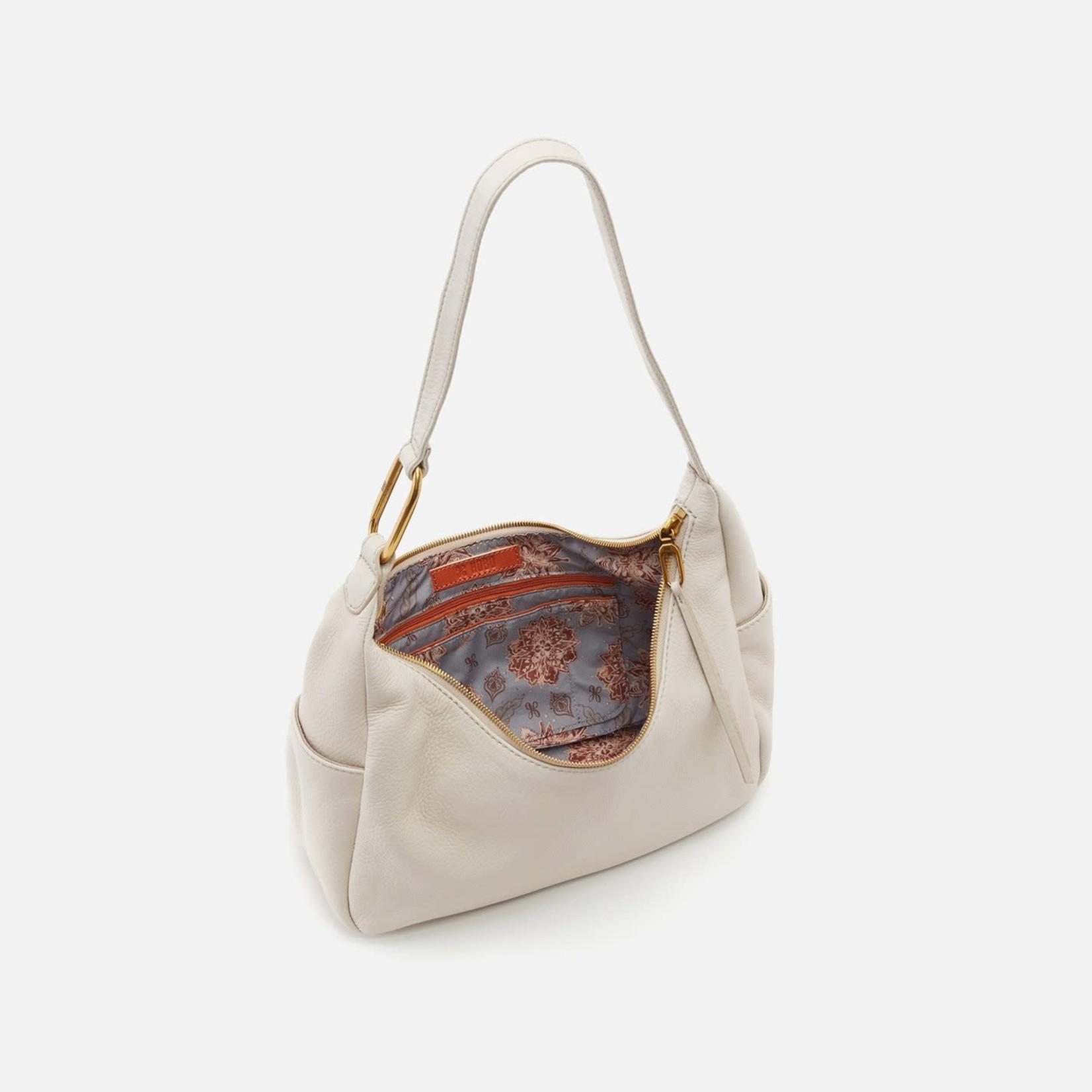 HOBO Fielder Powder Pebbled Leather Shoulder Bag