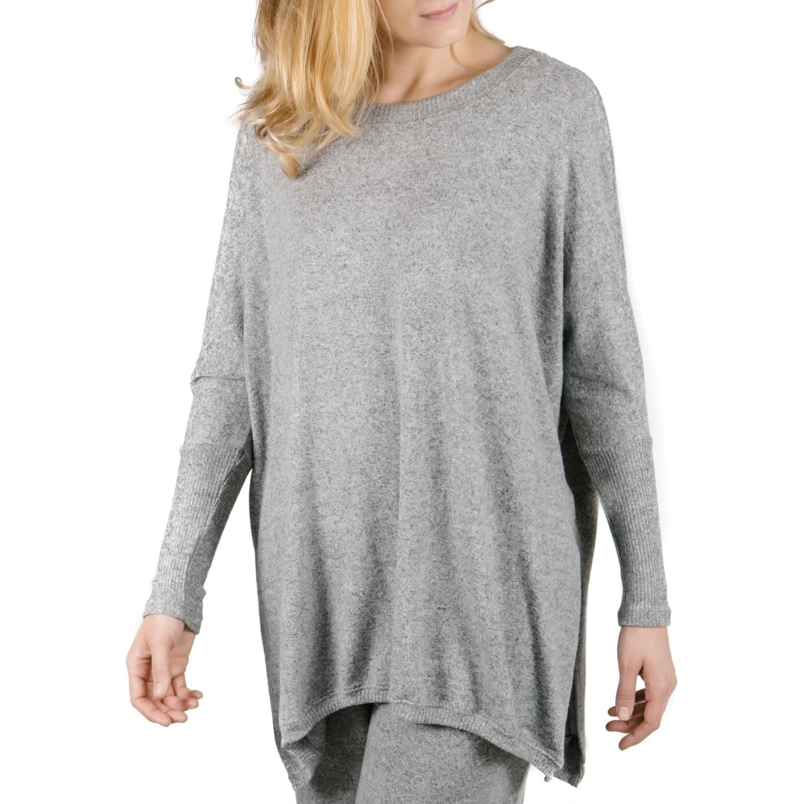Parker Pullover in Heather Gray