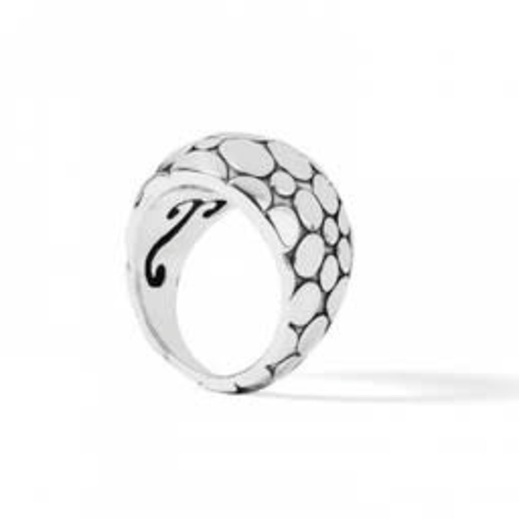 Brighton Pebble Ring in Silver Sz 8