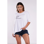 Los Angeles Trading Co Fluent French One Size Tee in White