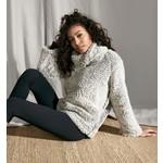 FDJ Double Fleece Pullover in Frost Gray