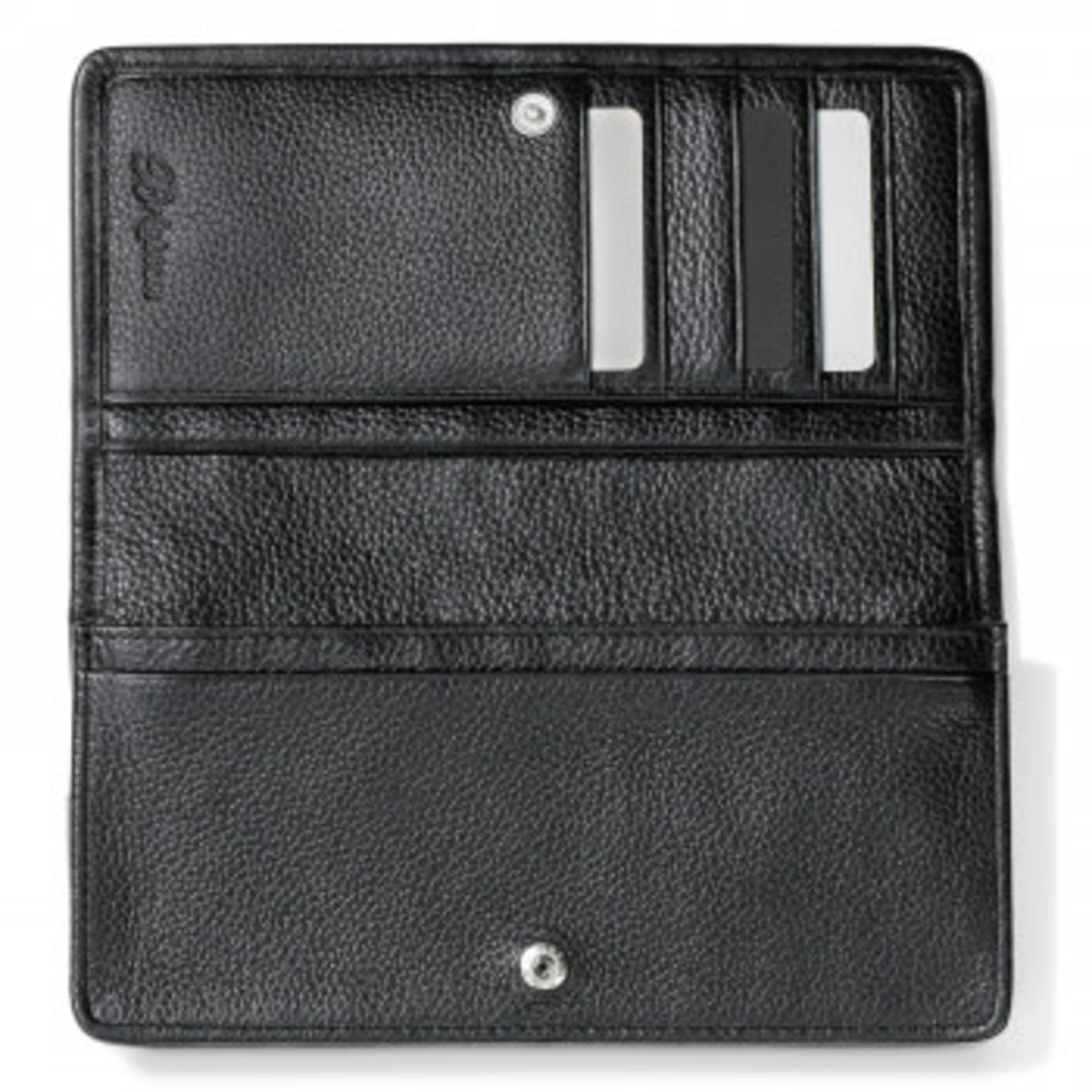 Brighton Interlok Rockmore Wallet in Black